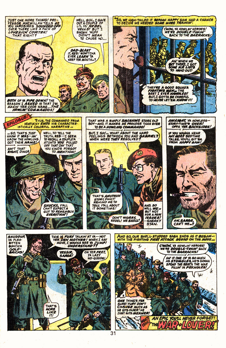 Read online Sgt. Fury comic -  Issue #139 - 33