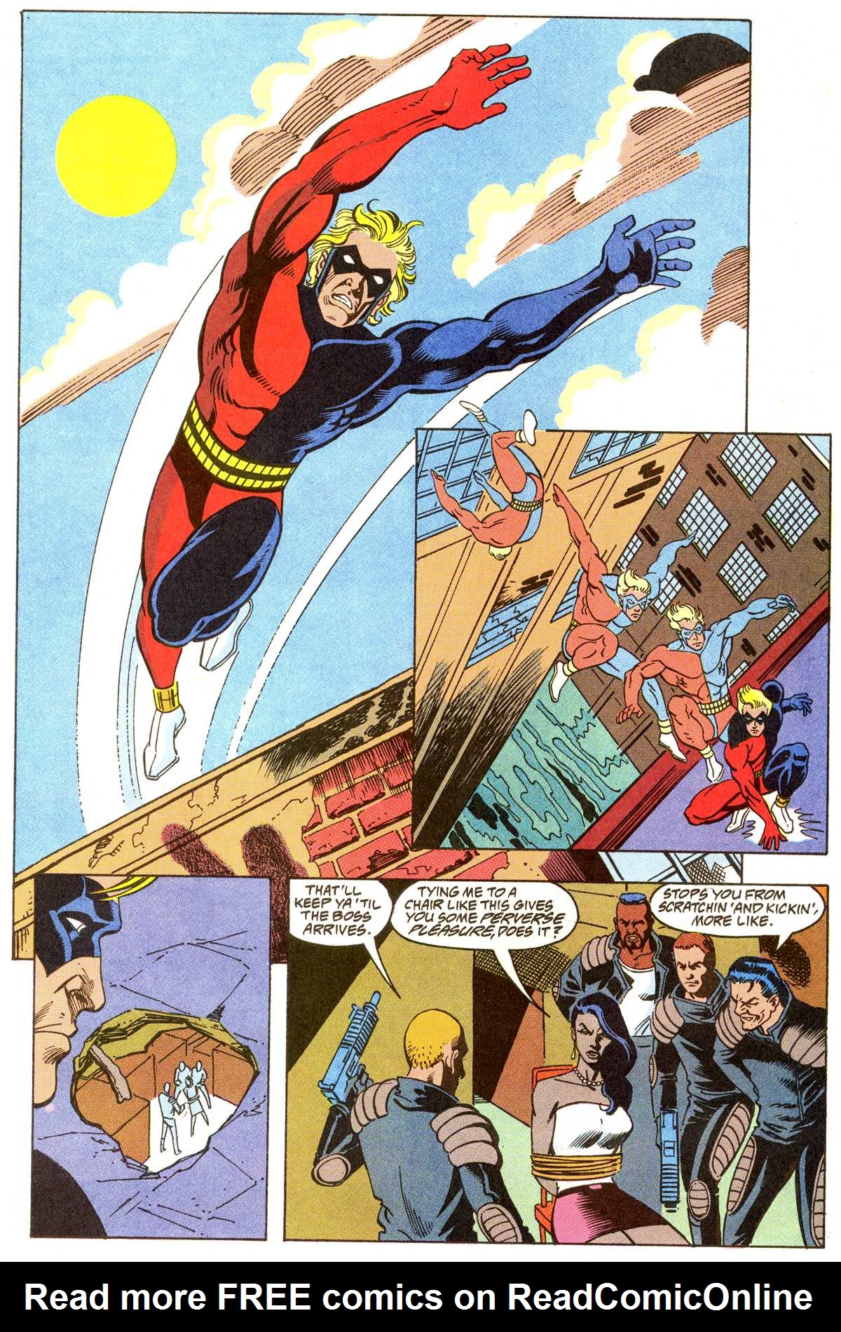 Read online Peter Cannon--Thunderbolt (1992) comic -  Issue #8 - 17