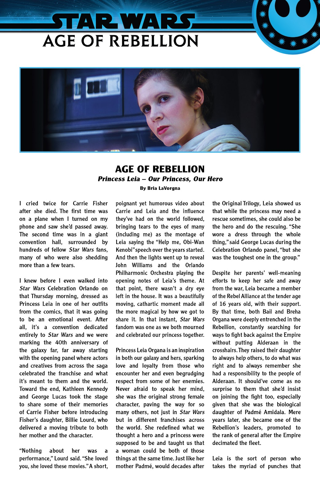Read online Star Wars: Age of Rebellion - Heroes comic -  Issue # TPB - 26