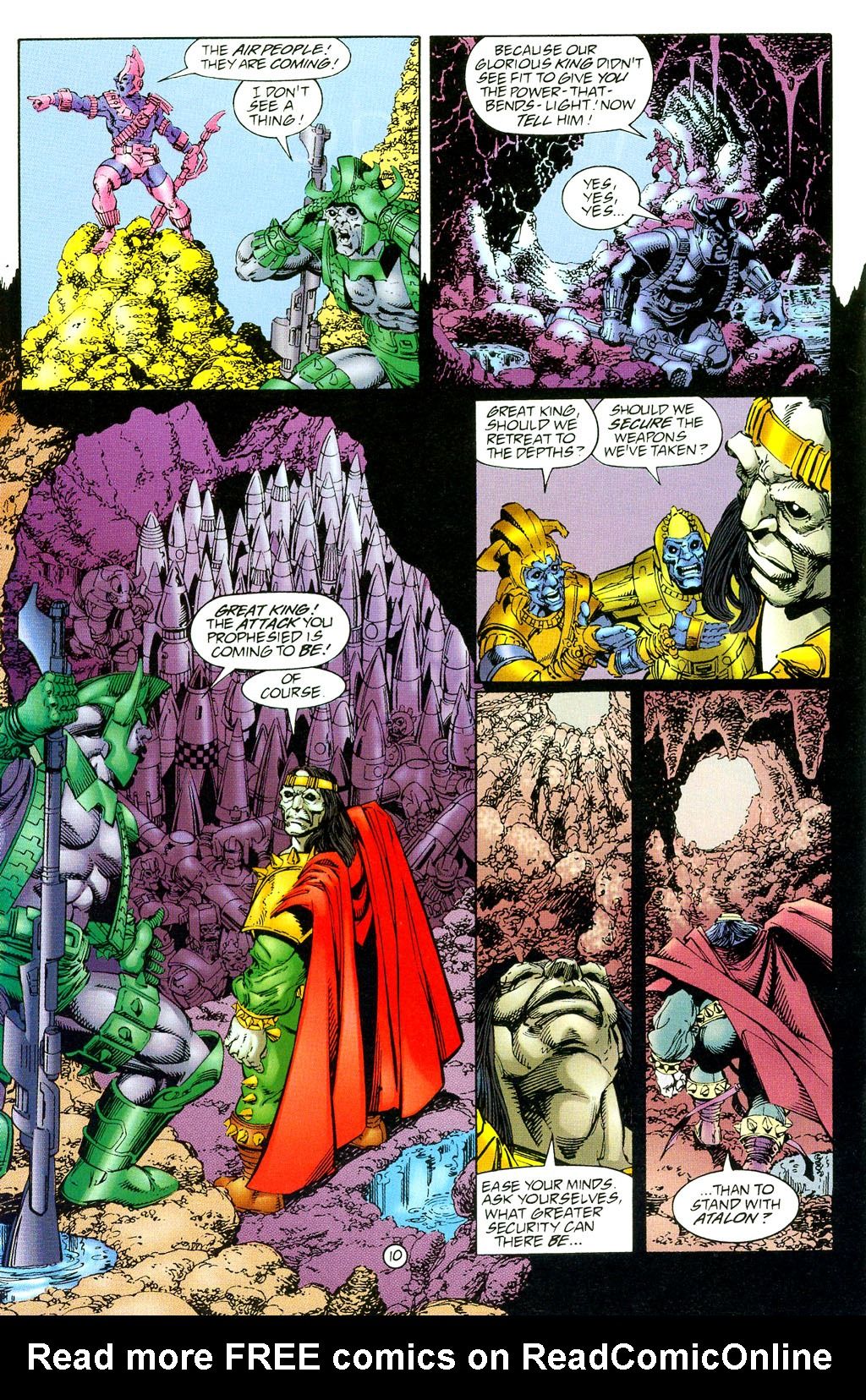 Read online UltraForce (1994) comic -  Issue #3 - 11