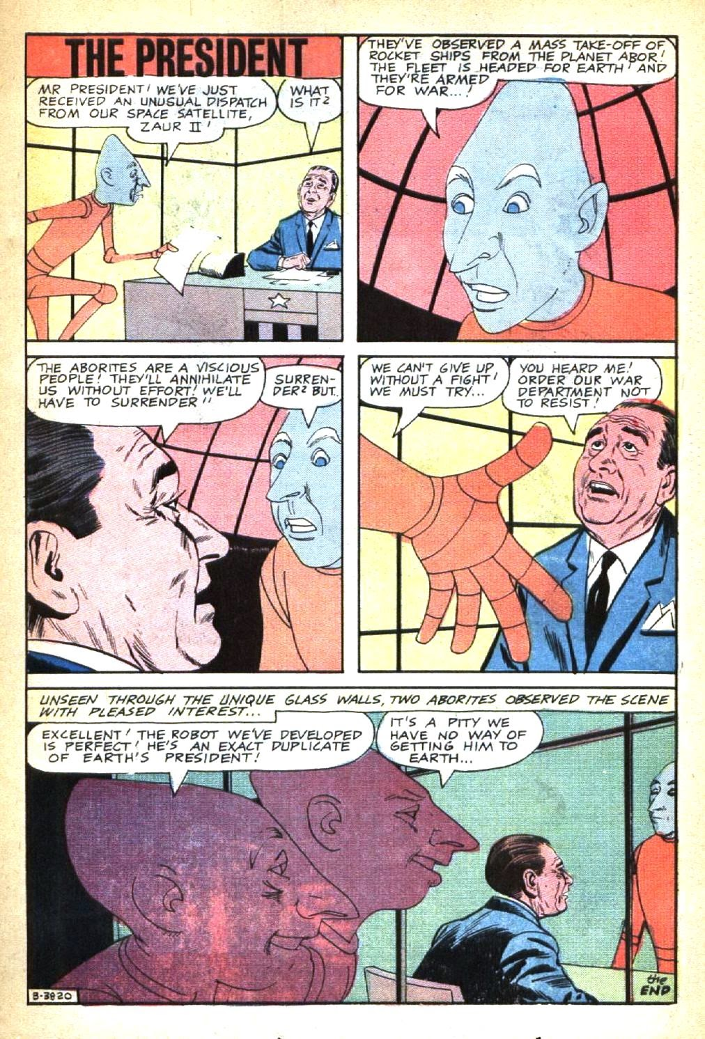 Strange Suspense Stories (1967) issue 3 - Page 23