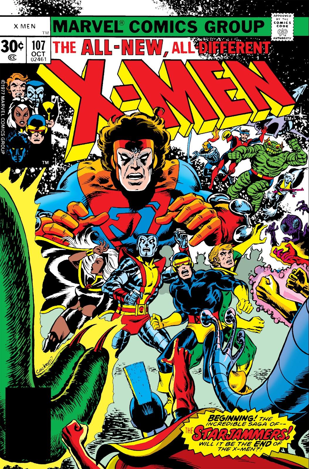 Uncanny X-Men (1963) 107 Page 1
