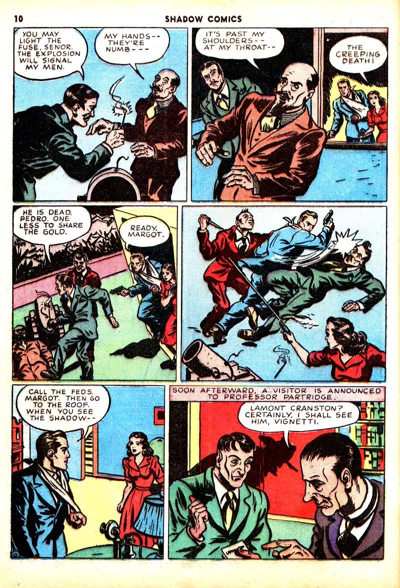 Read online Shadow Comics comic -  Issue #7 - 11