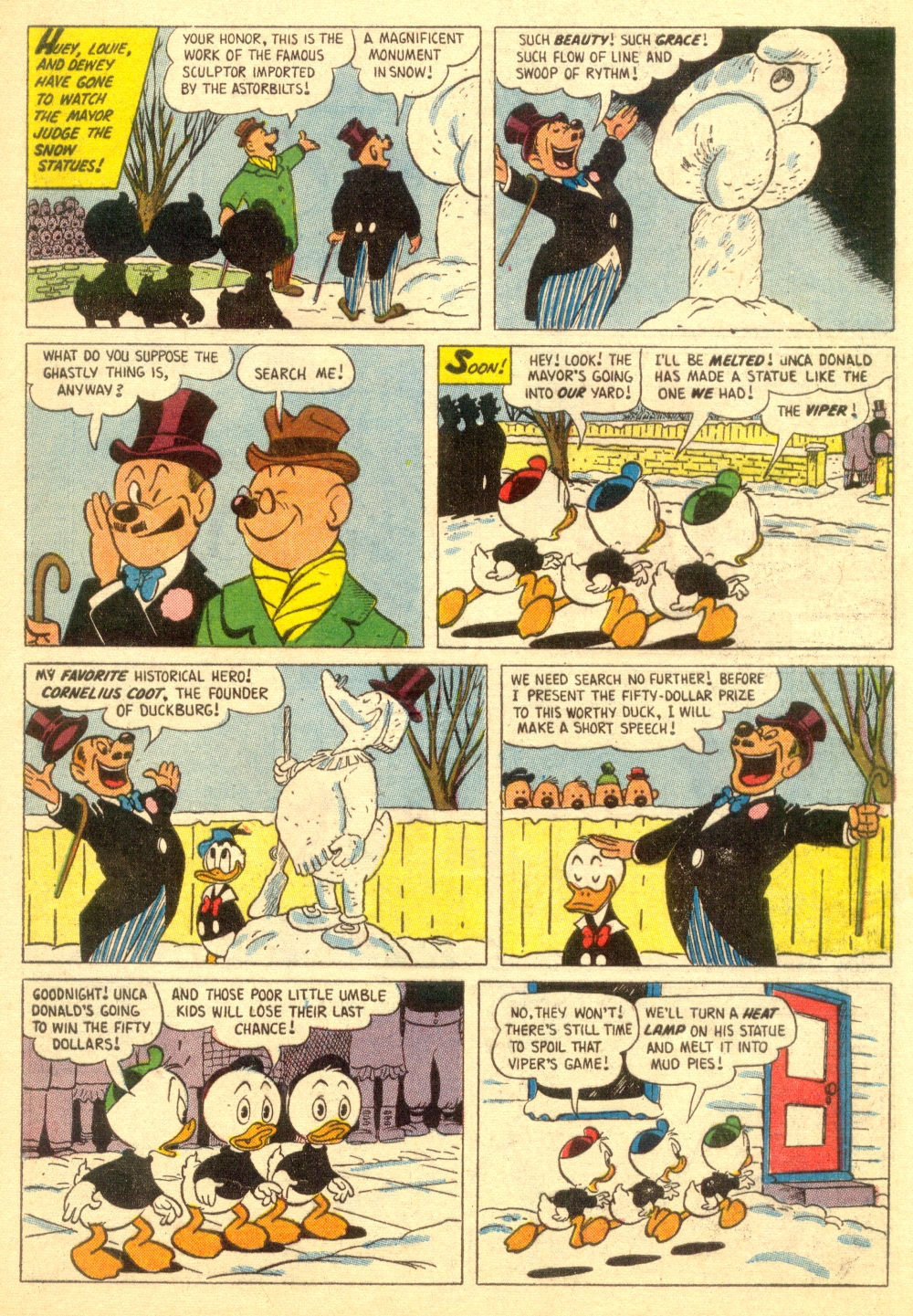 Walt Disney's Comics and Stories issue 196 - Page 9