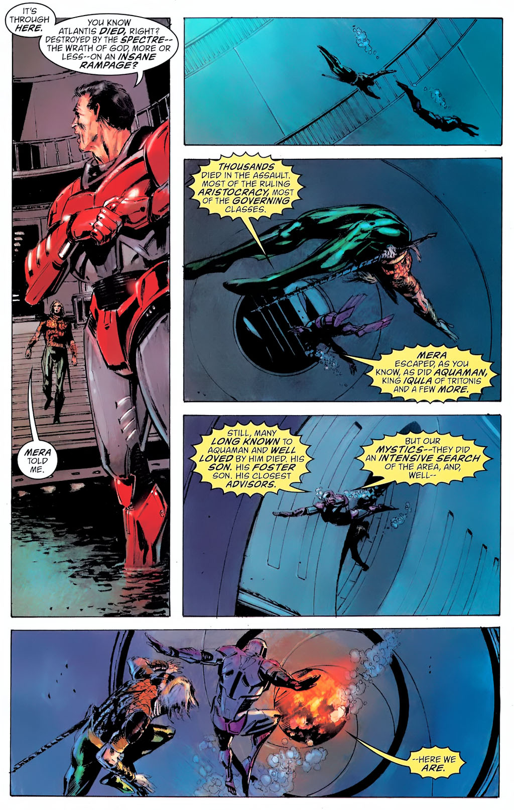 Read online Aquaman: Sword of Atlantis comic -  Issue #42 - 22