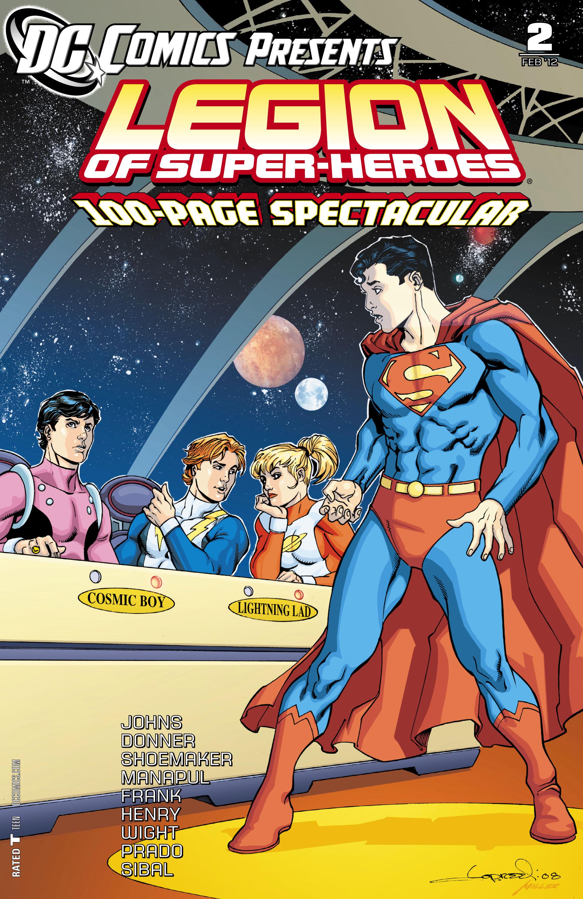 DC Comics Presents: Legion of Super-Heroes 2 Page 1