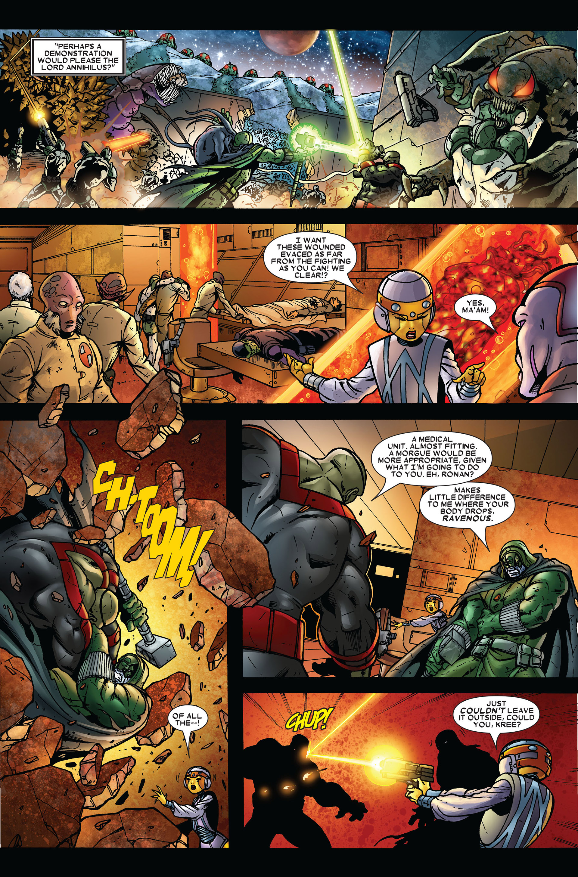Read online Annihilation comic -  Issue #3 - 12