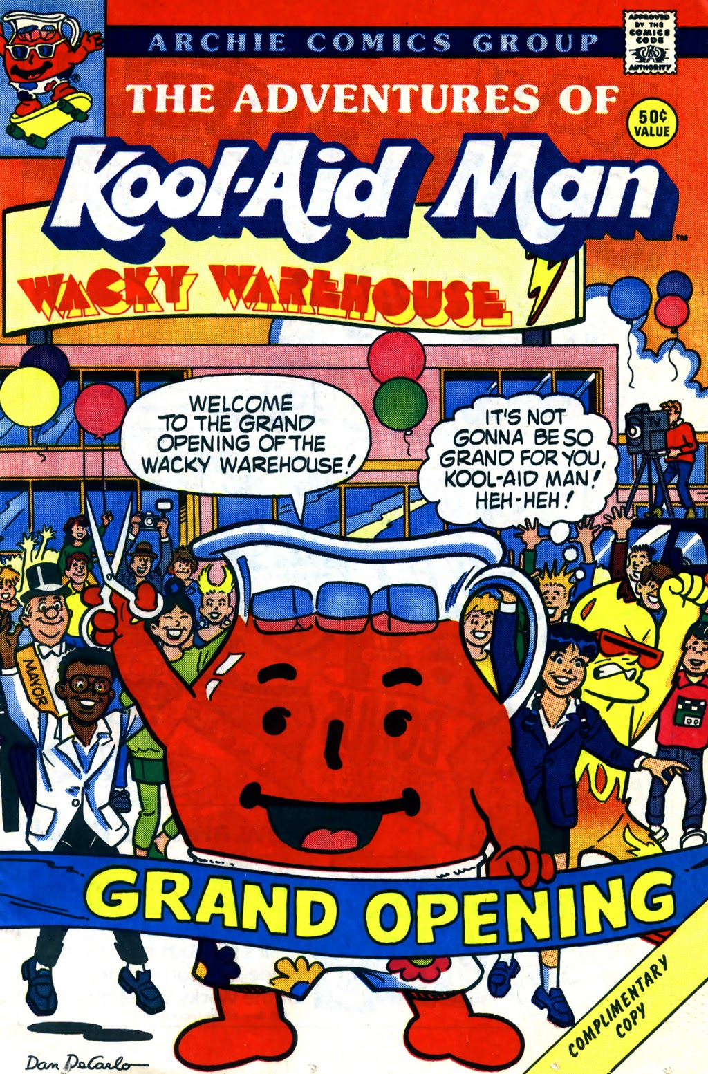 The Adventures of Kool-Aid Man 5 Page 1