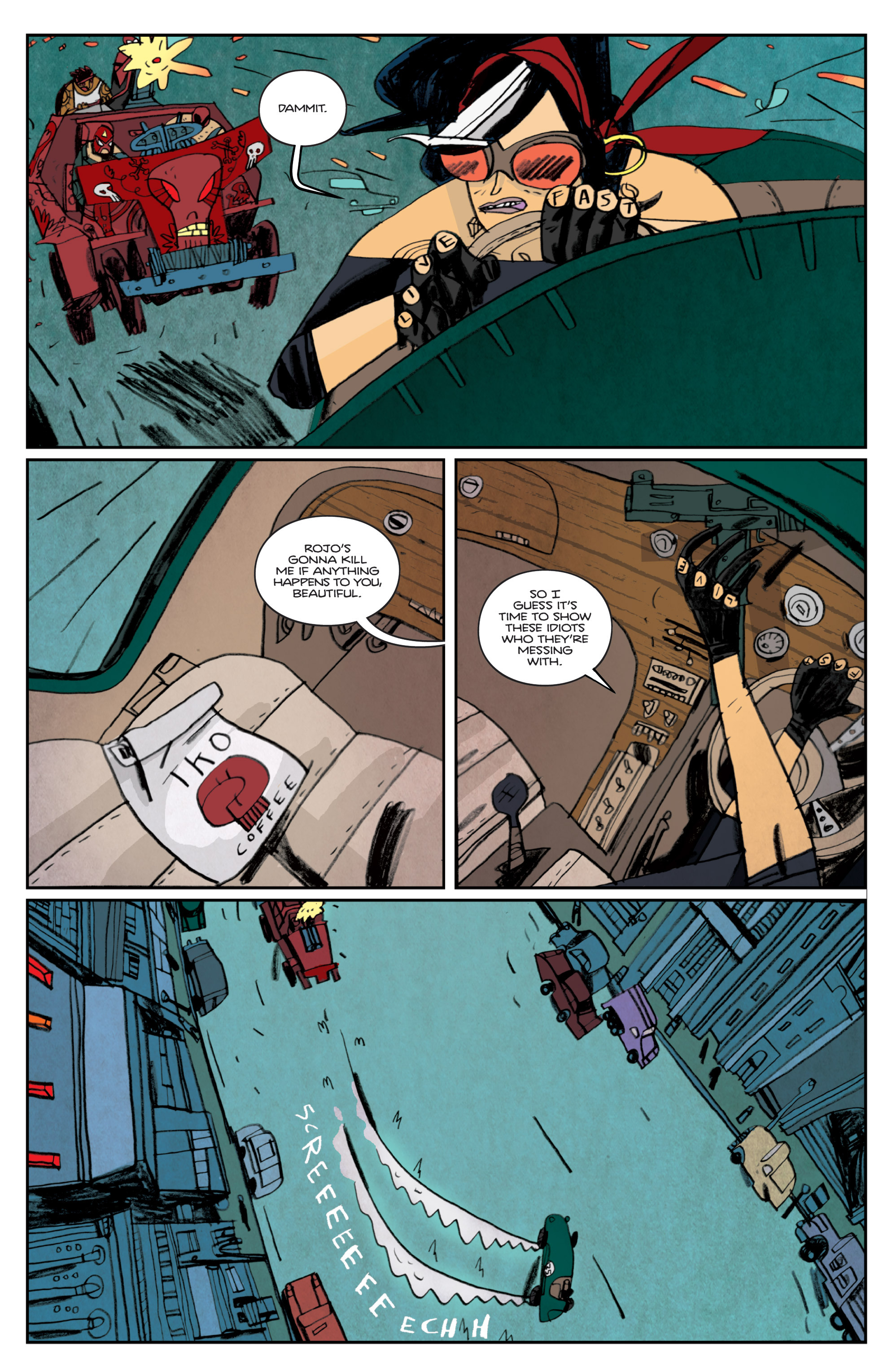 Read online Night Owl Society comic -  Issue #2 - 32