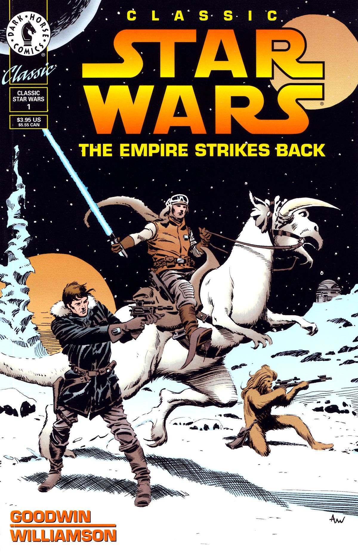 Classic Star Wars: The Empire Strikes Back 1 Page 1