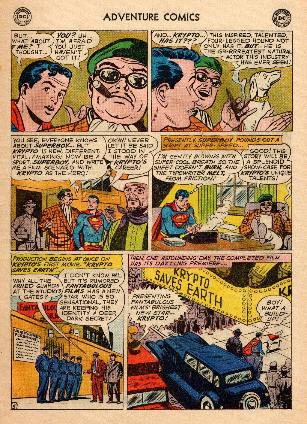 Read online Adventure Comics (1938) comic -  Issue #272 - 7