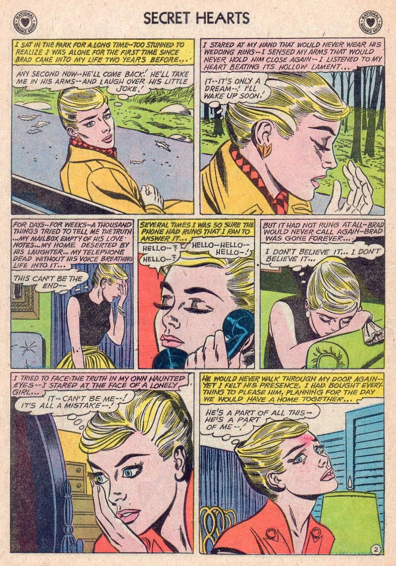 Read online Secret Hearts comic -  Issue #67 - 12