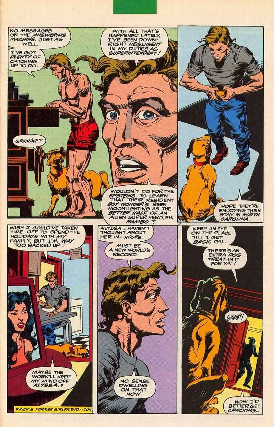 Read online Sleepwalker Holiday Special comic -  Issue # Full - 8