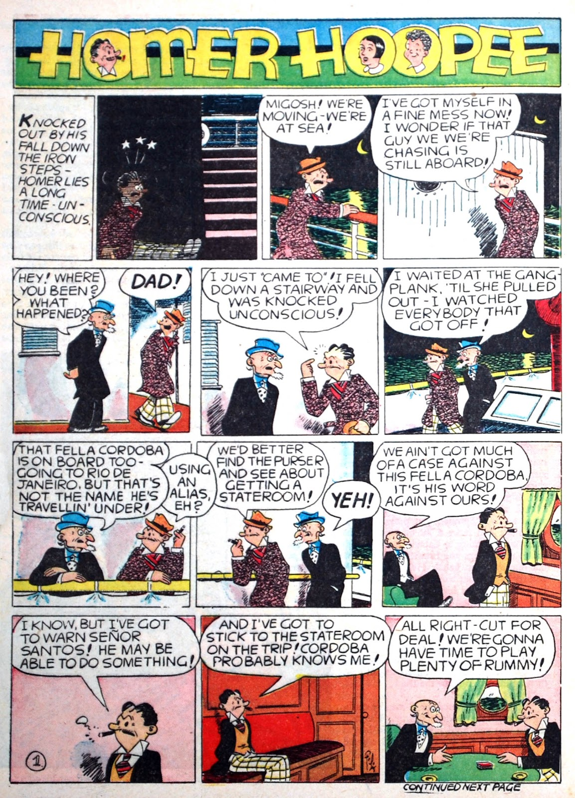 Read online Famous Funnies comic -  Issue #75 - 60