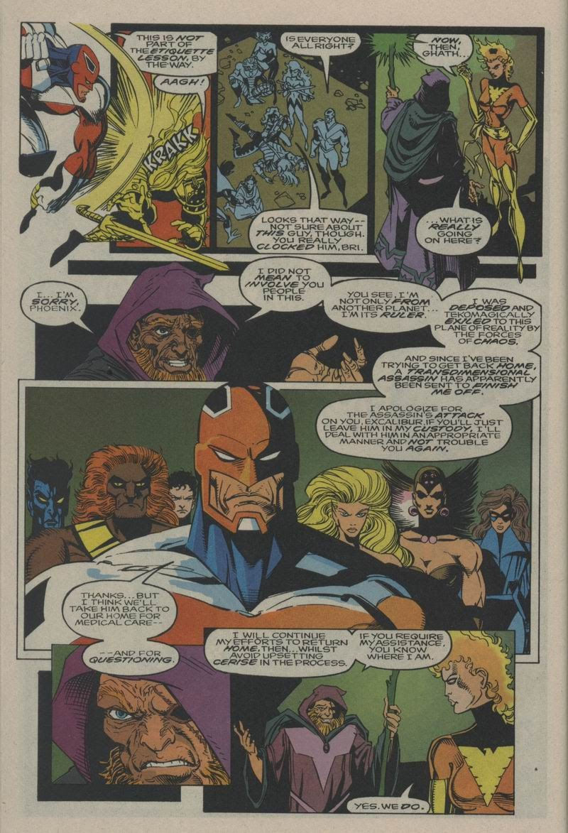 Excalibur (1988) issue Annual 1 - Page 13