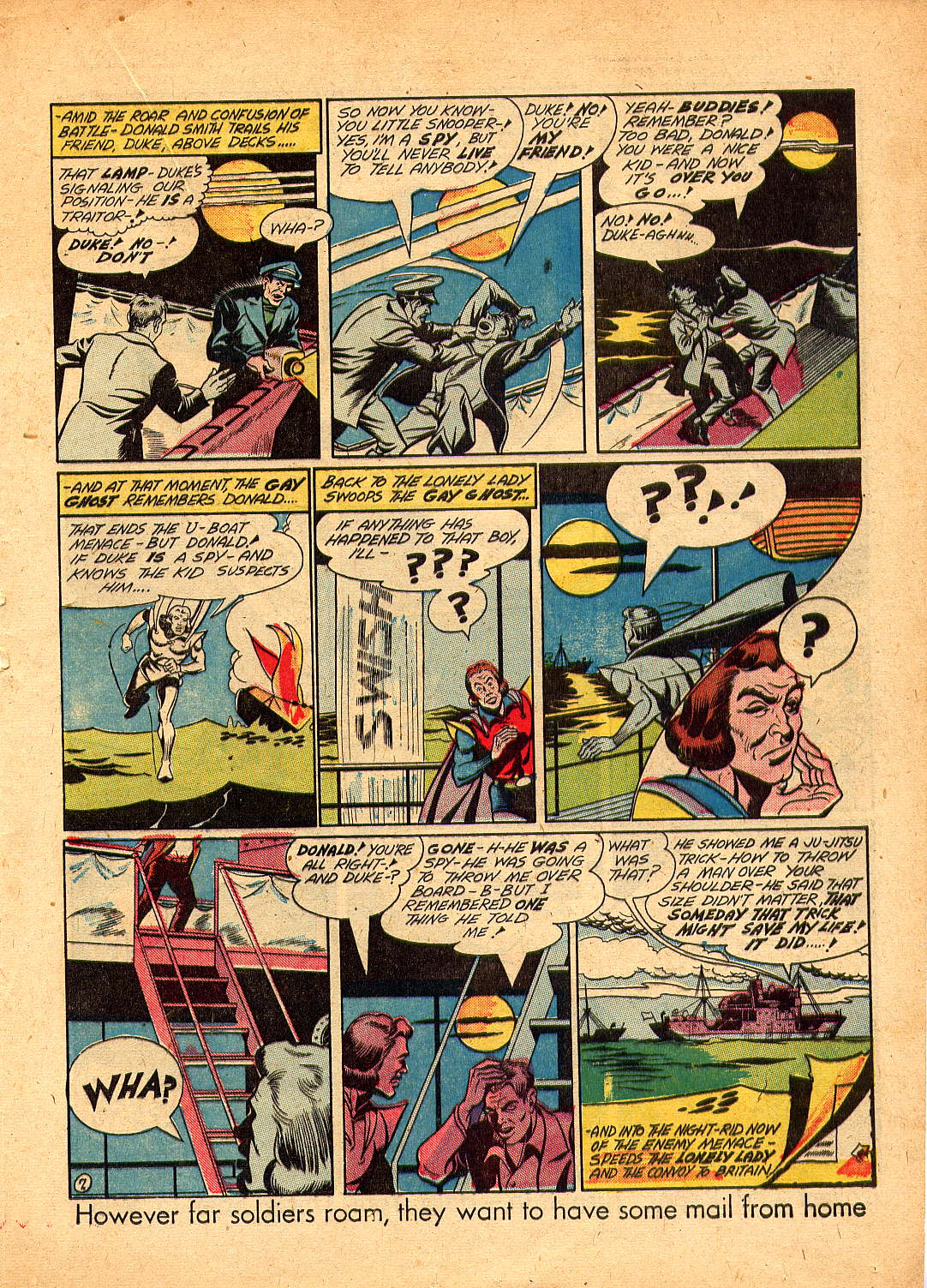 Read online Sensation (Mystery) Comics comic -  Issue #30 - 37