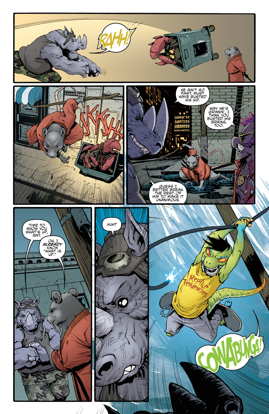 Read online Teenage Mutant Ninja Turtles: The IDW Collection comic -  Issue # TPB 5 (Part 2) - 63