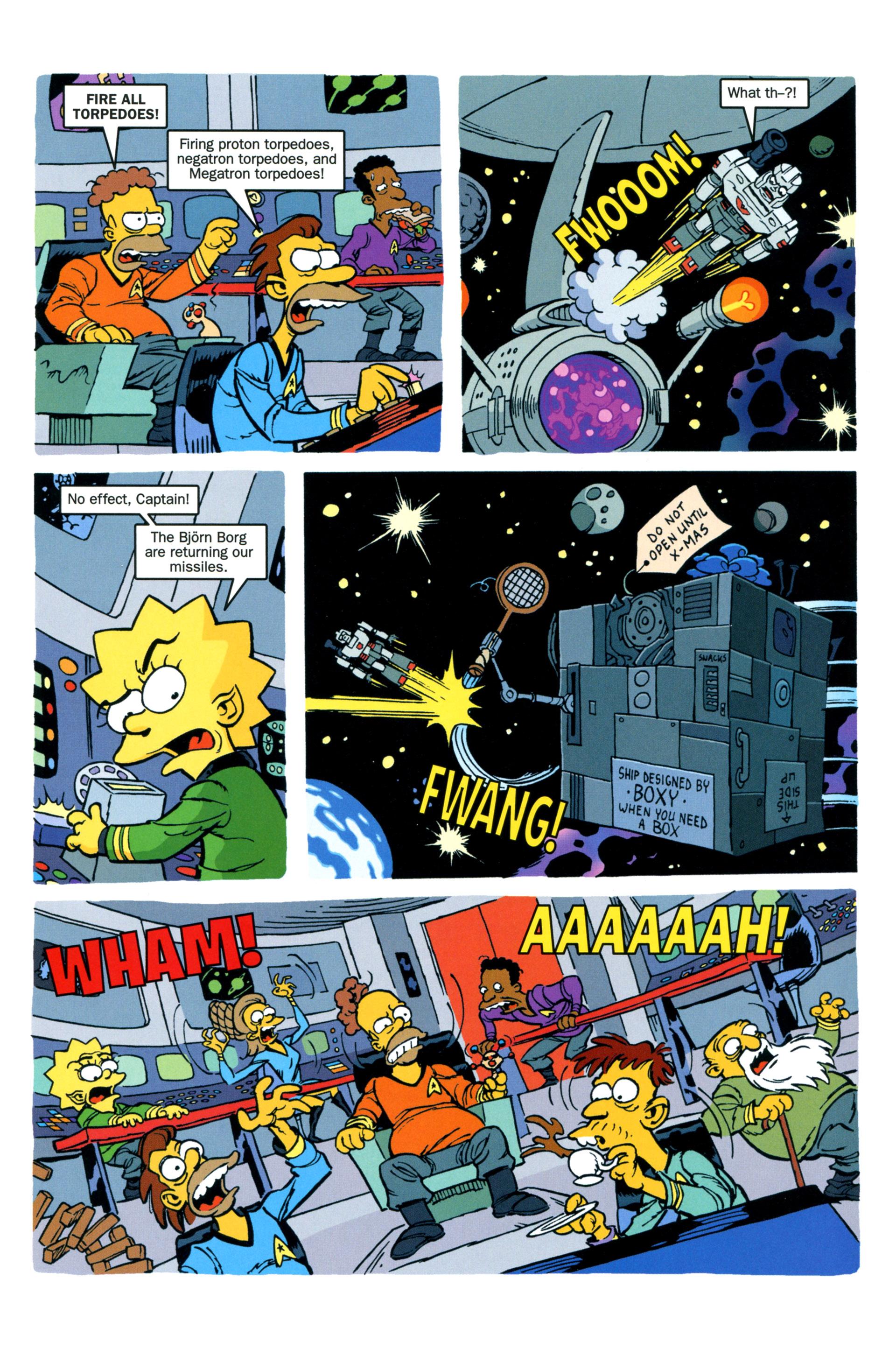 Read online Simpsons Comics comic -  Issue #203 - 28