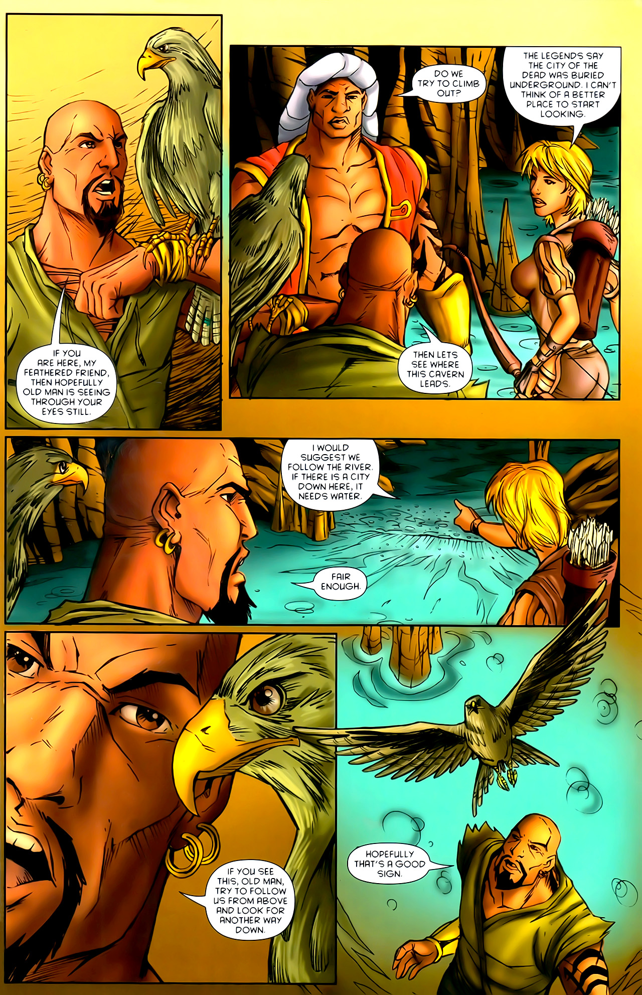 Read online 1001 Arabian Nights: The Adventures of Sinbad comic -  Issue #10 - 6