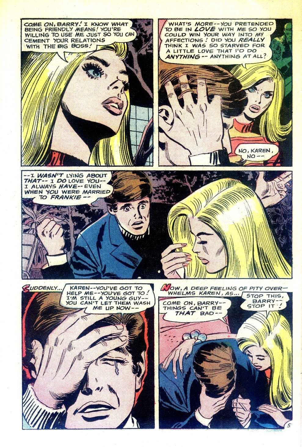 Read online Secret Hearts comic -  Issue #130 - 22