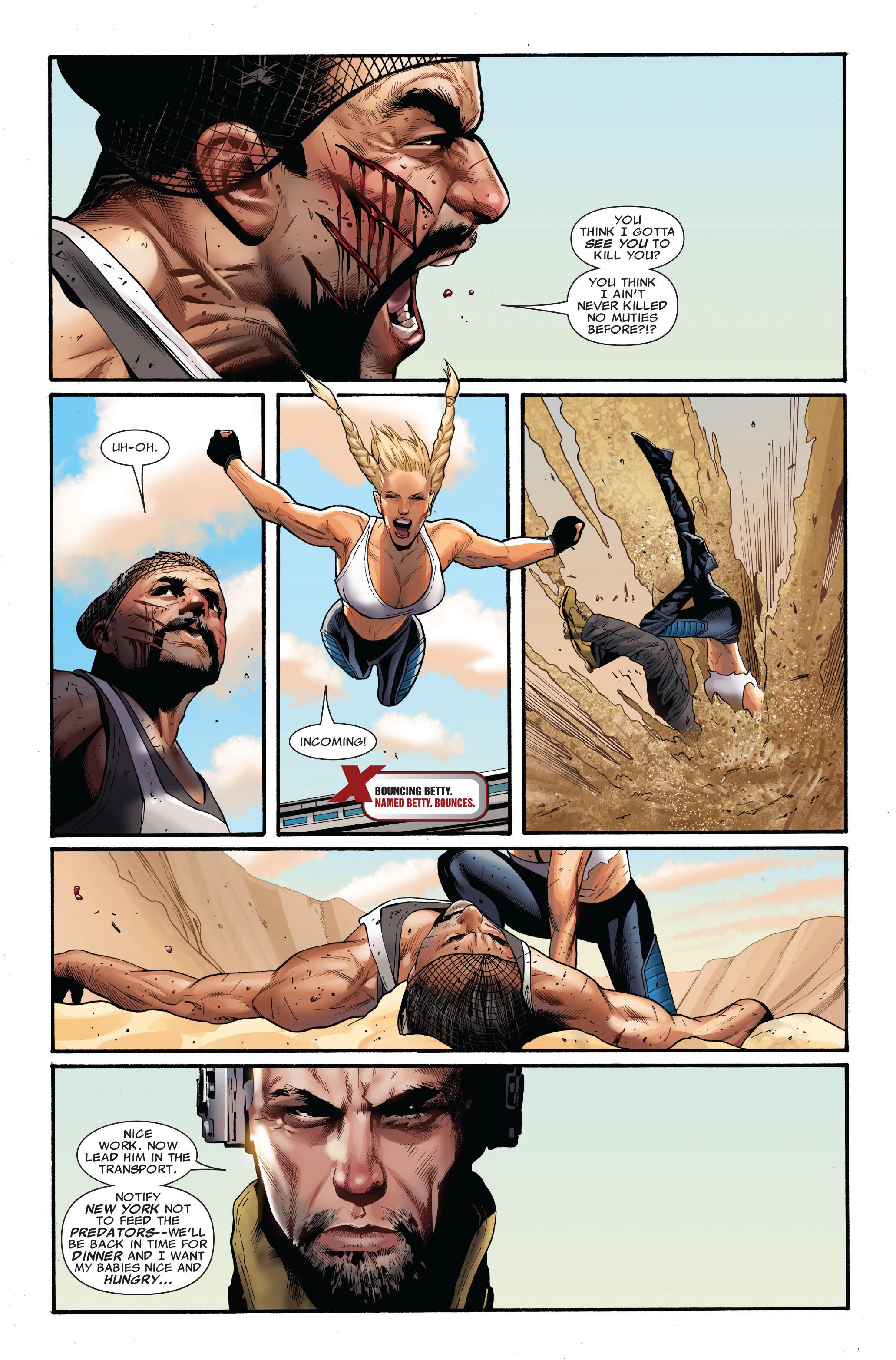Read online Uncanny X-Men (1963) comic -  Issue #515 - 7