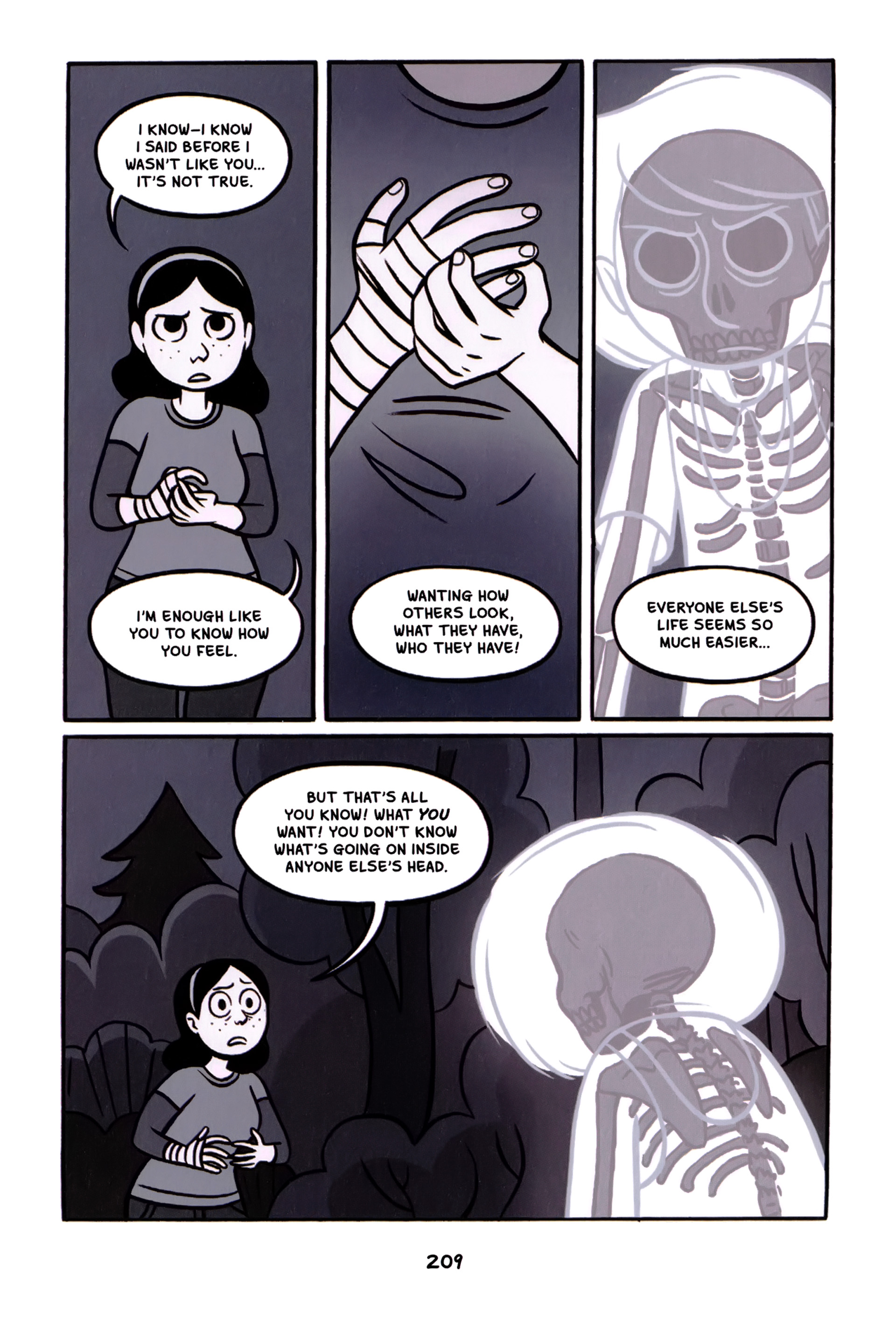 Read online Anya's Ghost comic -  Issue #1 - 210