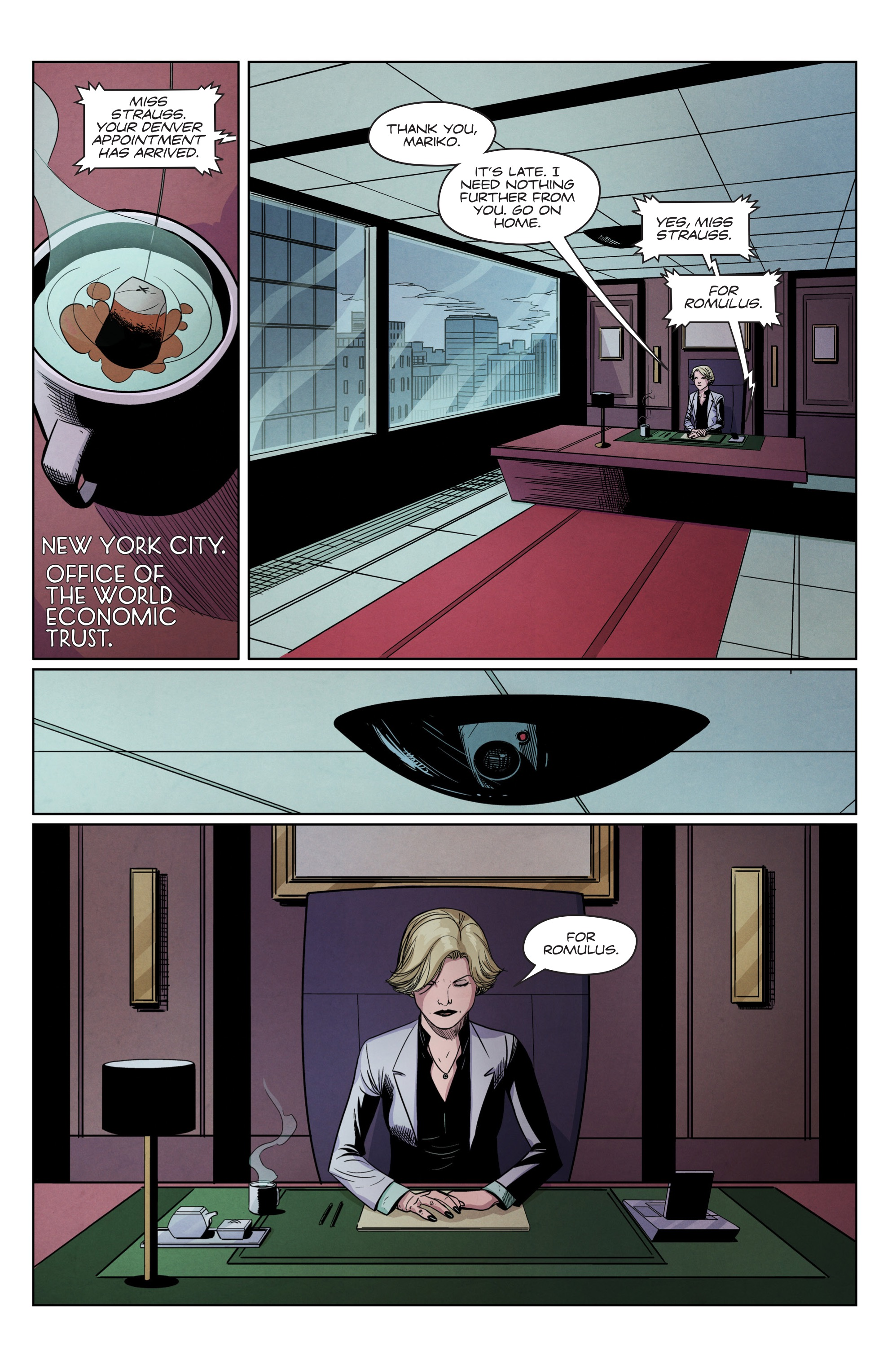 Read online Romulus comic -  Issue #4 - 4
