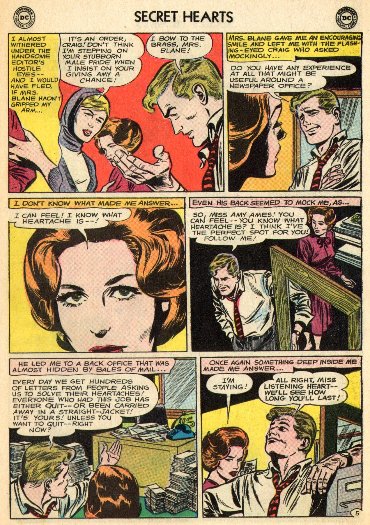 Read online Secret Hearts comic -  Issue #96 - 27