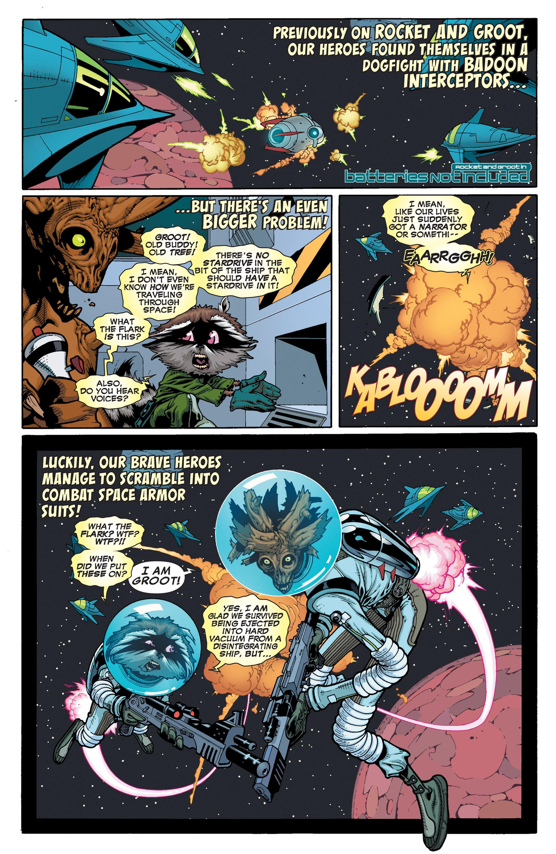 Read online Annihilators: Earthfall comic -  Issue #2 - 22