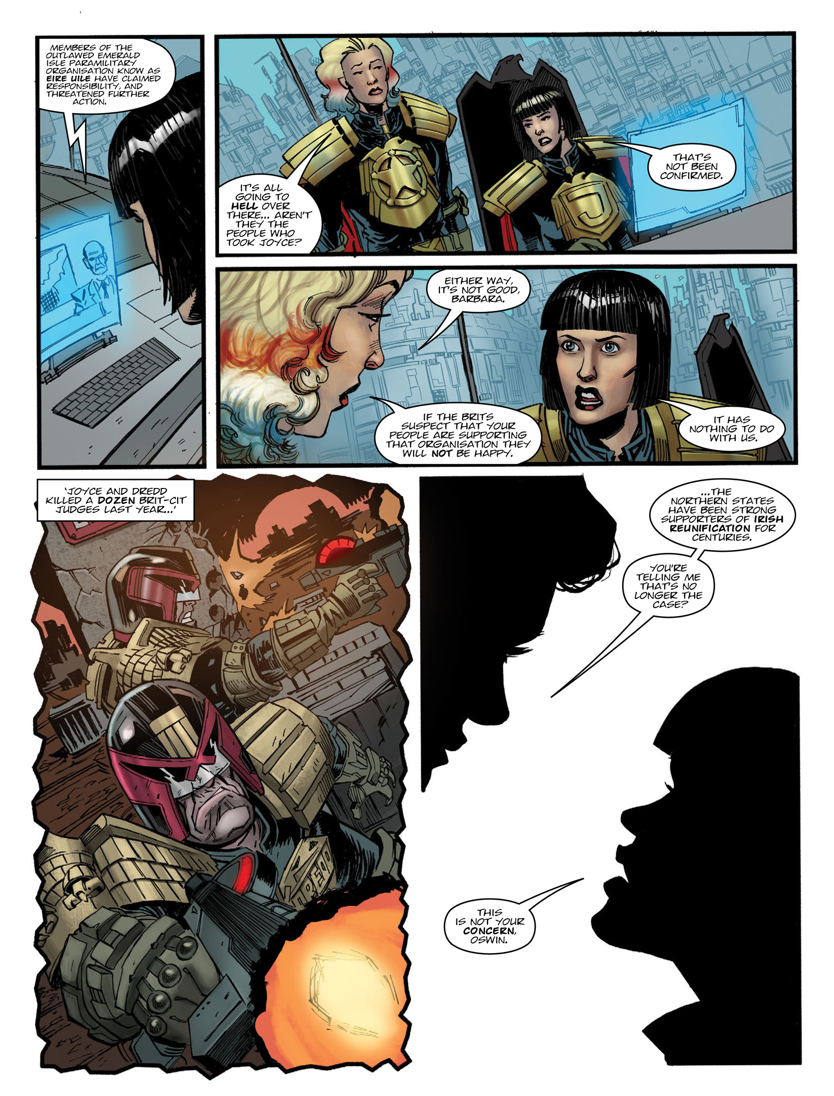 Read online 2000 AD comic -  Issue #1983 - 5
