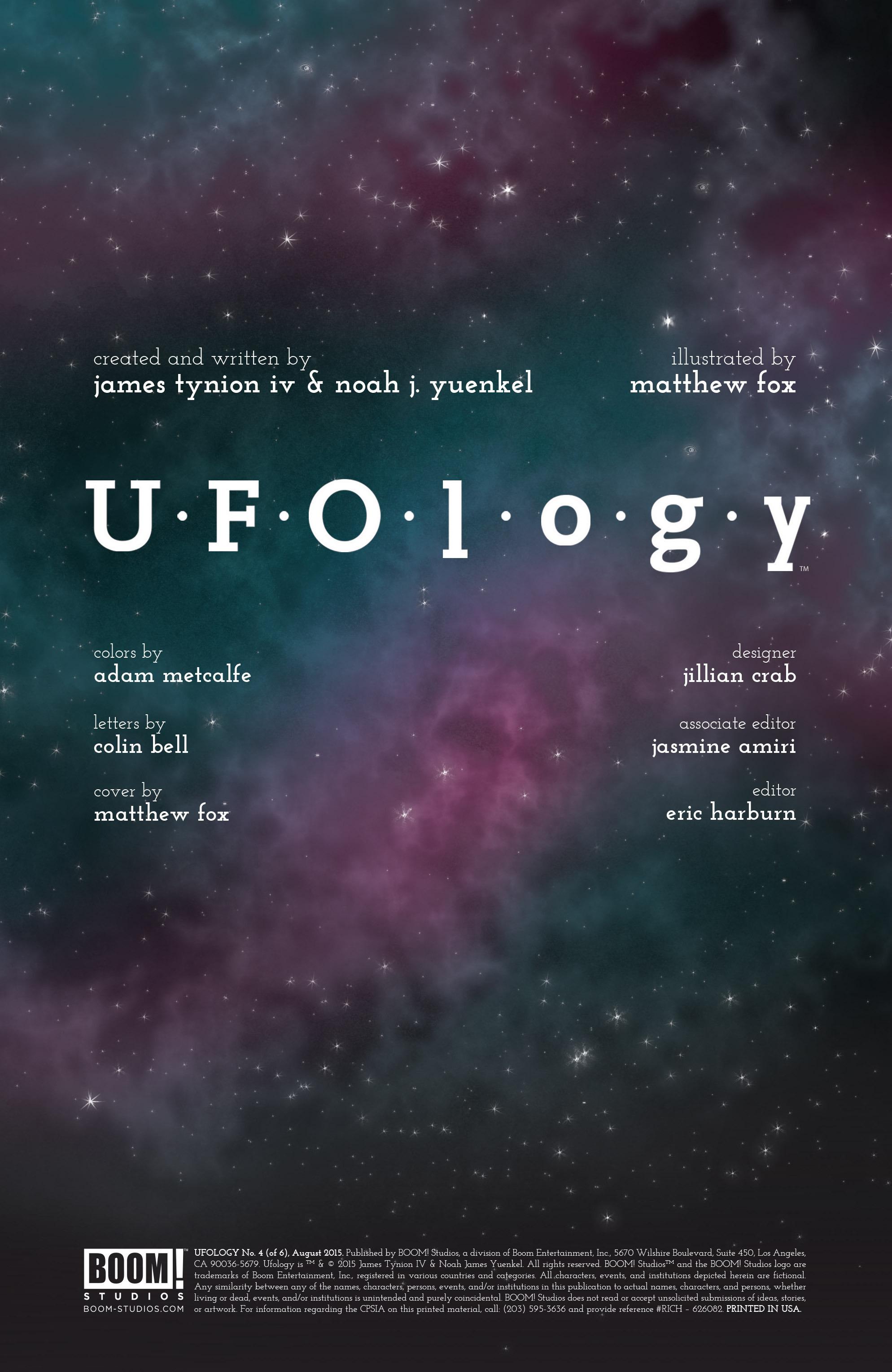 Read online UFOlogy comic -  Issue #4 - 2