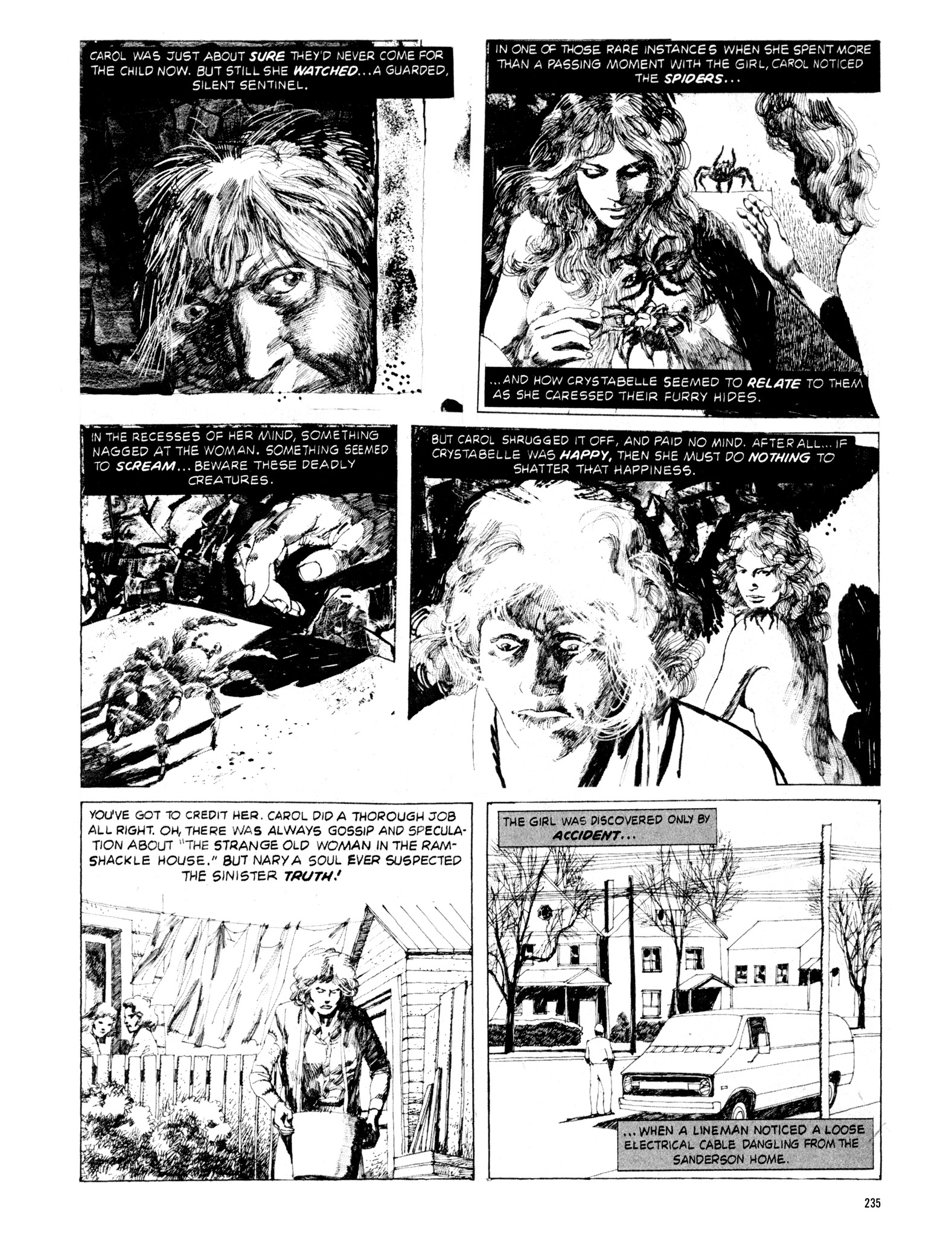 Read online Eerie Archives comic -  Issue # TPB 18 - 232