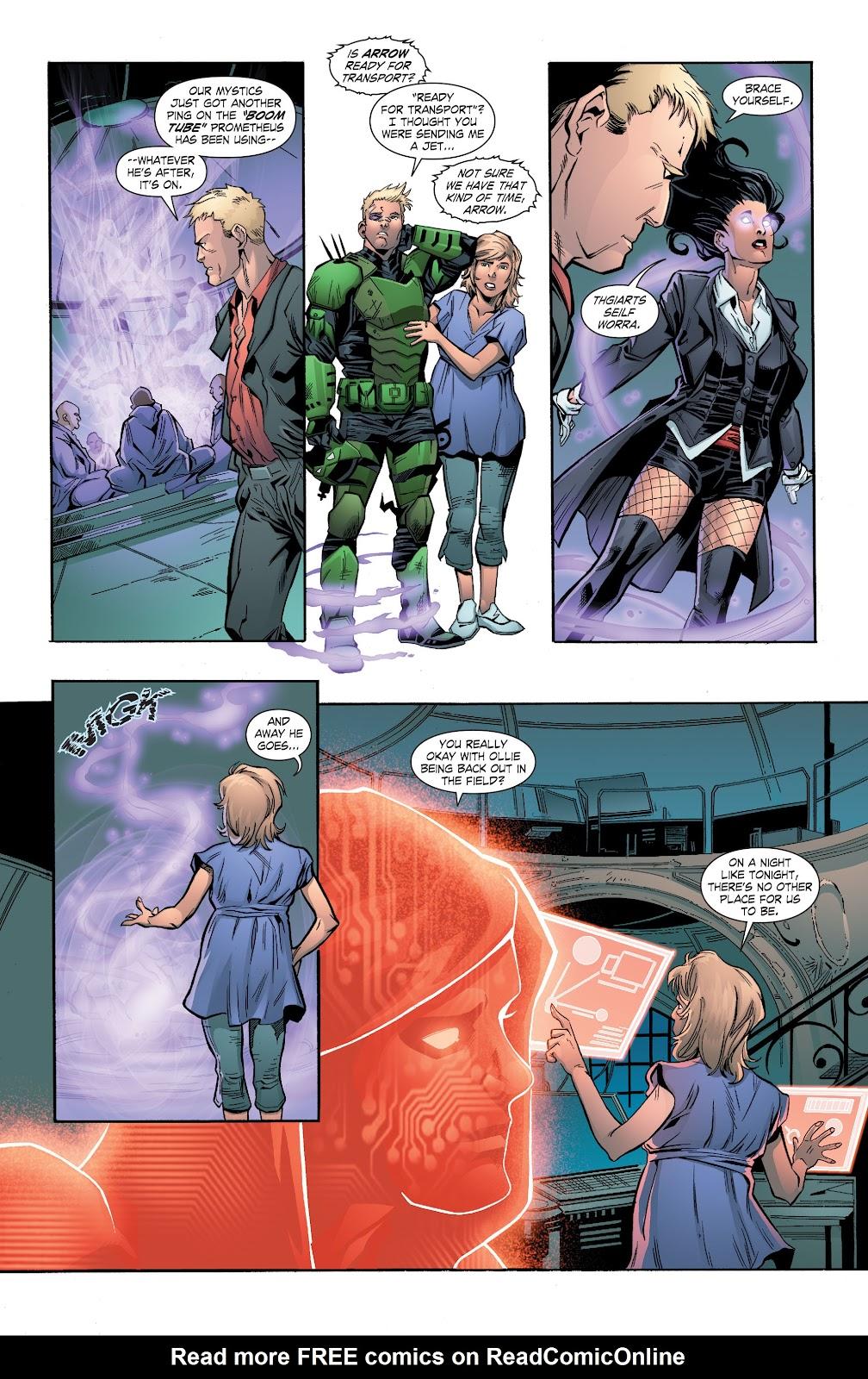 Read online Smallville Season 11 [II] comic -  Issue # TPB 7 - 104
