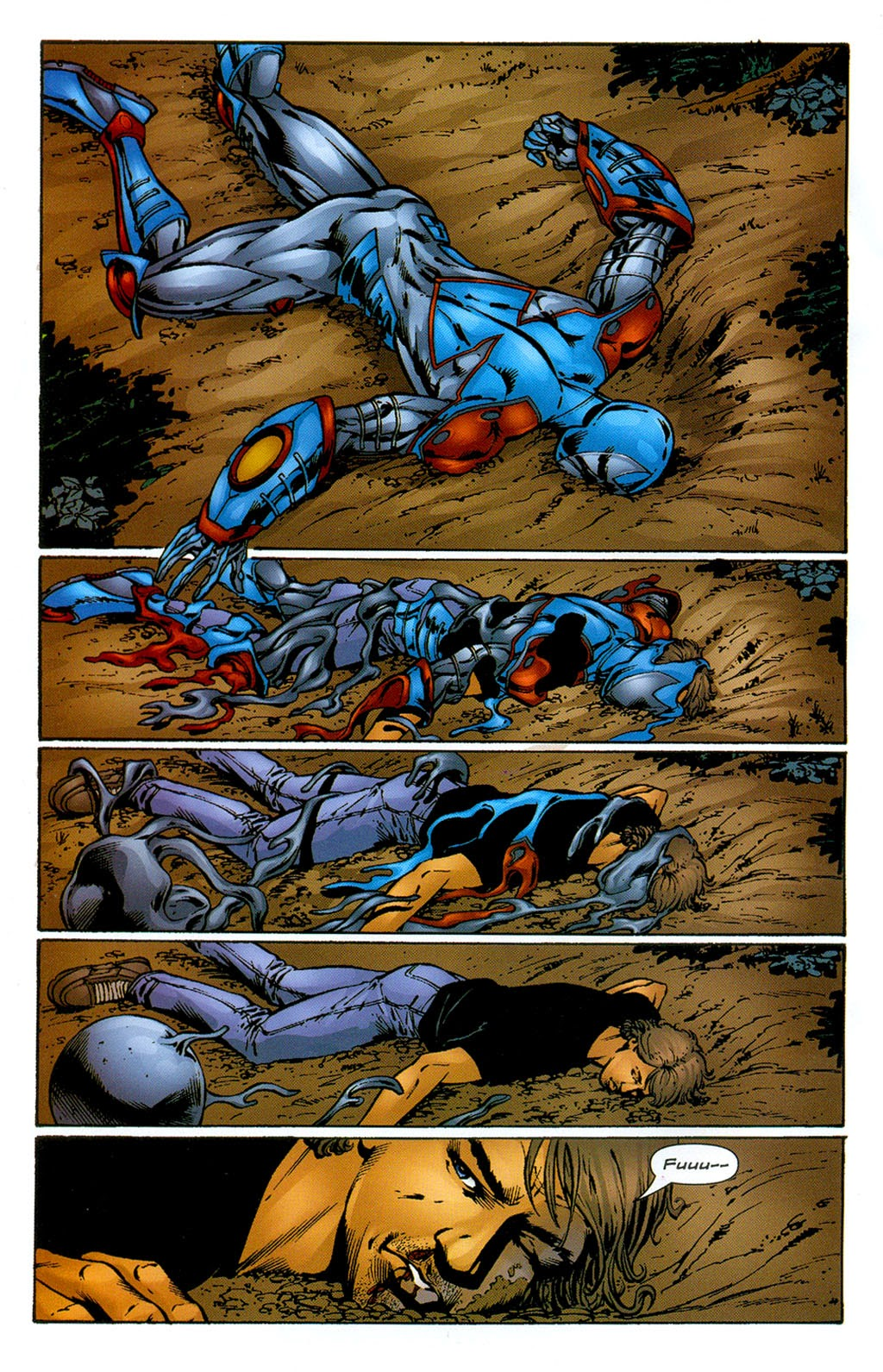 Read online ArmorX comic -  Issue #3 - 20