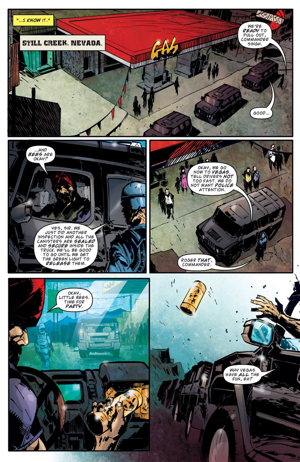 Read online Dead Rising: Road to Fortune comic -  Issue #2 - 24