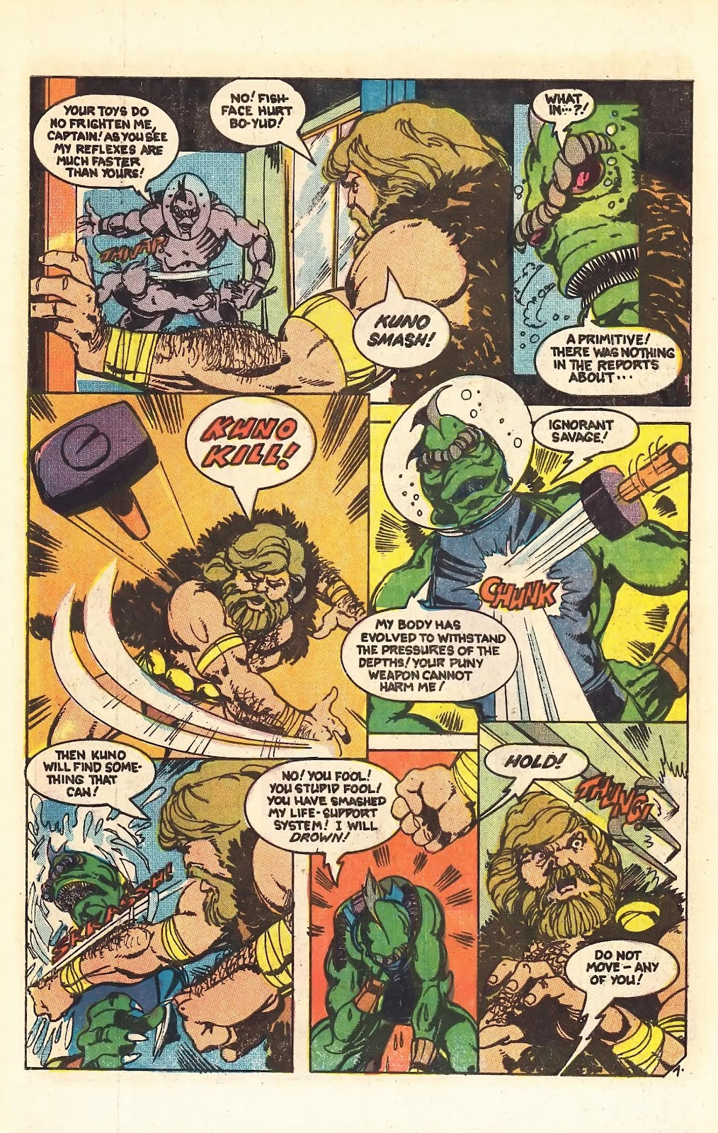 Read online Doomsday   1 (1975) comic -  Issue #4 - 10