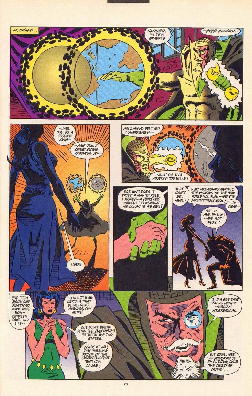Read online Secret Defenders comic -  Issue #7 - 18