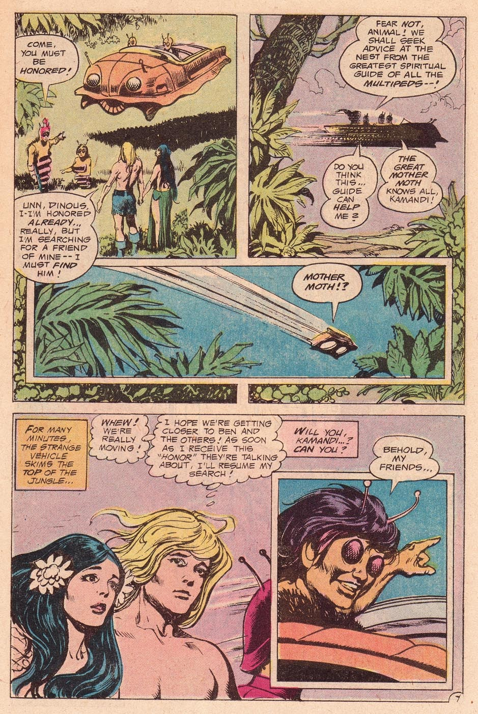 Kamandi, The Last Boy On Earth issue 54 - Page 9