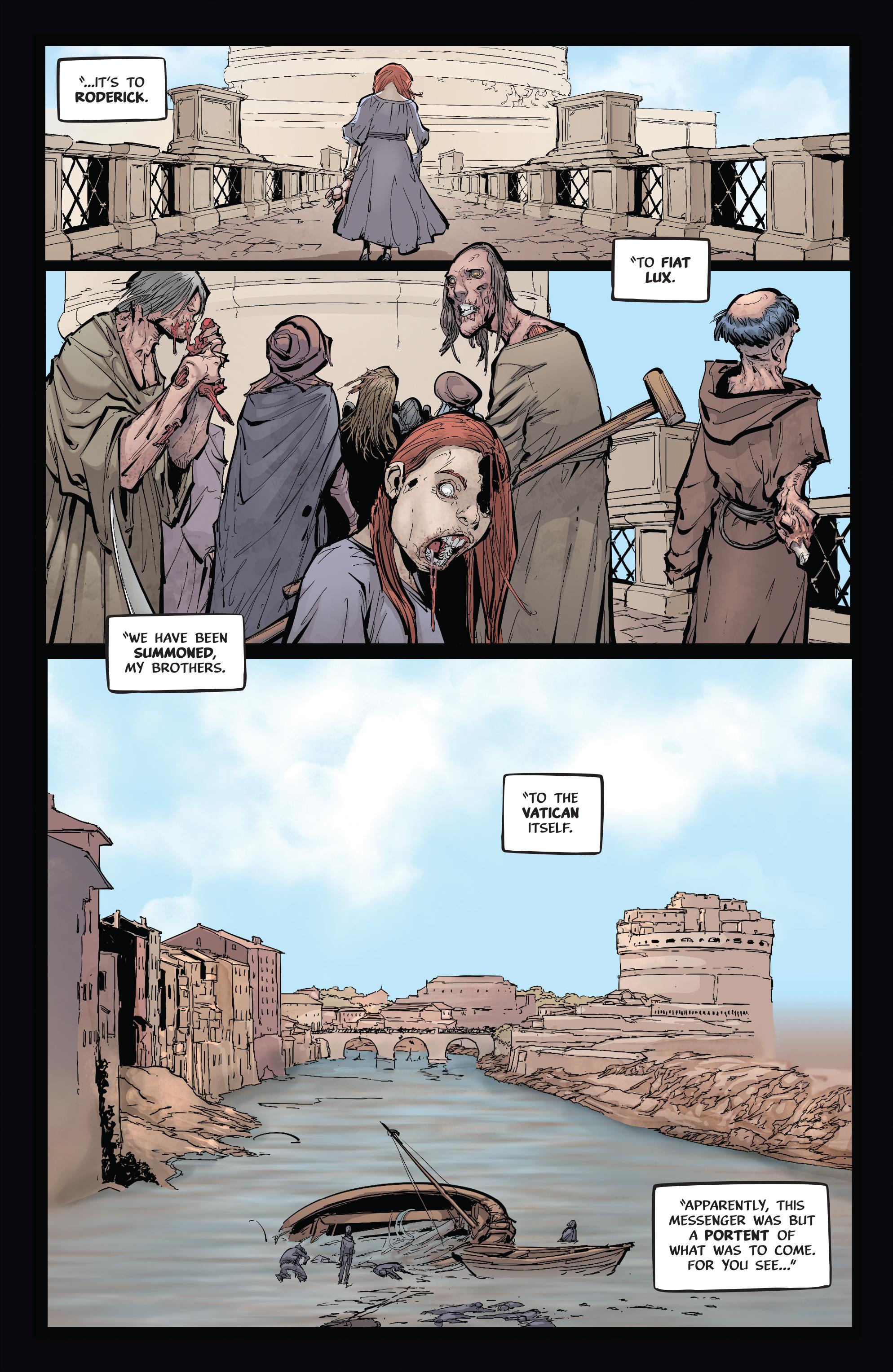 Read online Pestilence comic -  Issue #1 - 22