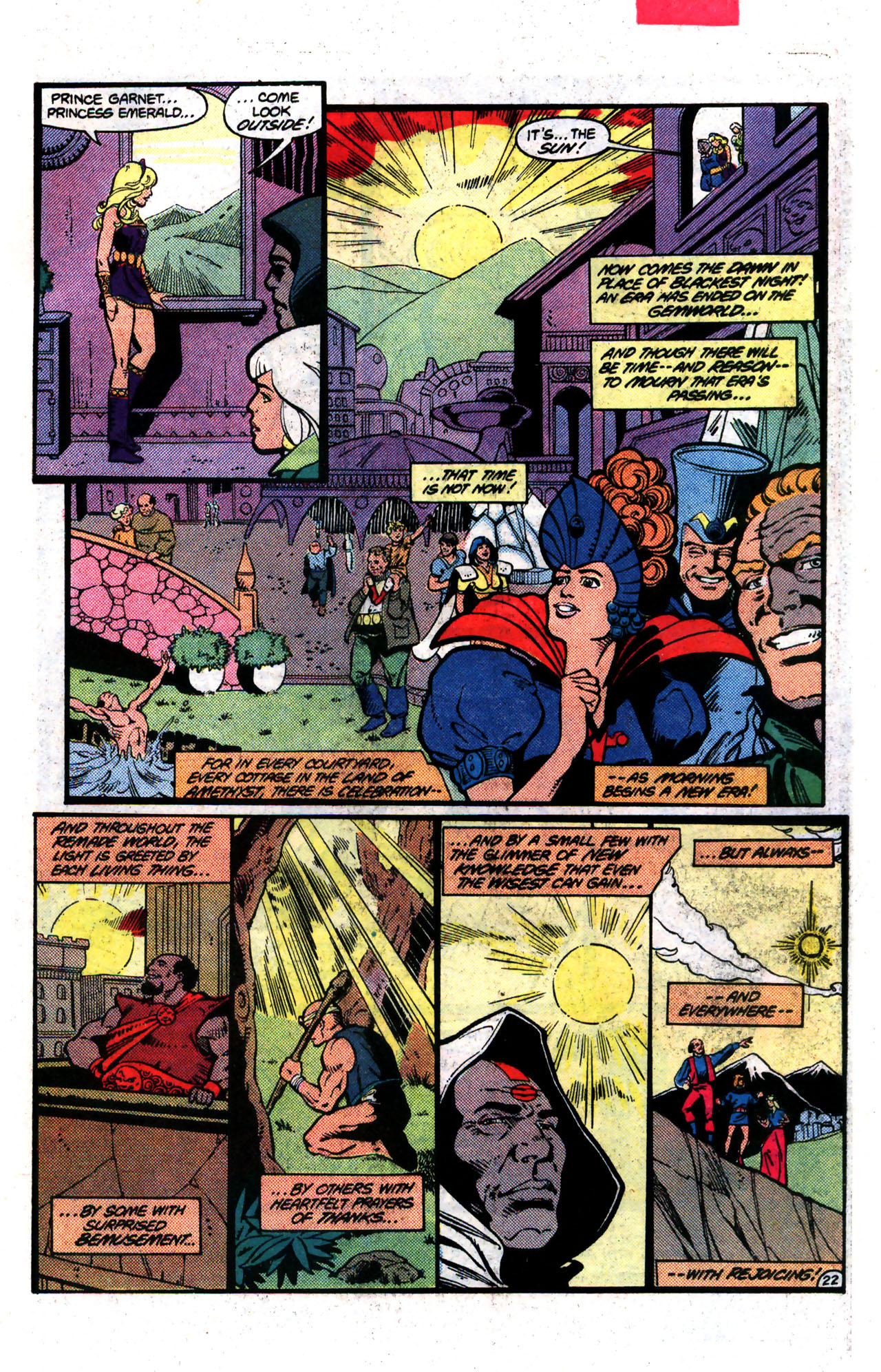Read online Amethyst (1985) comic -  Issue #8 - 22