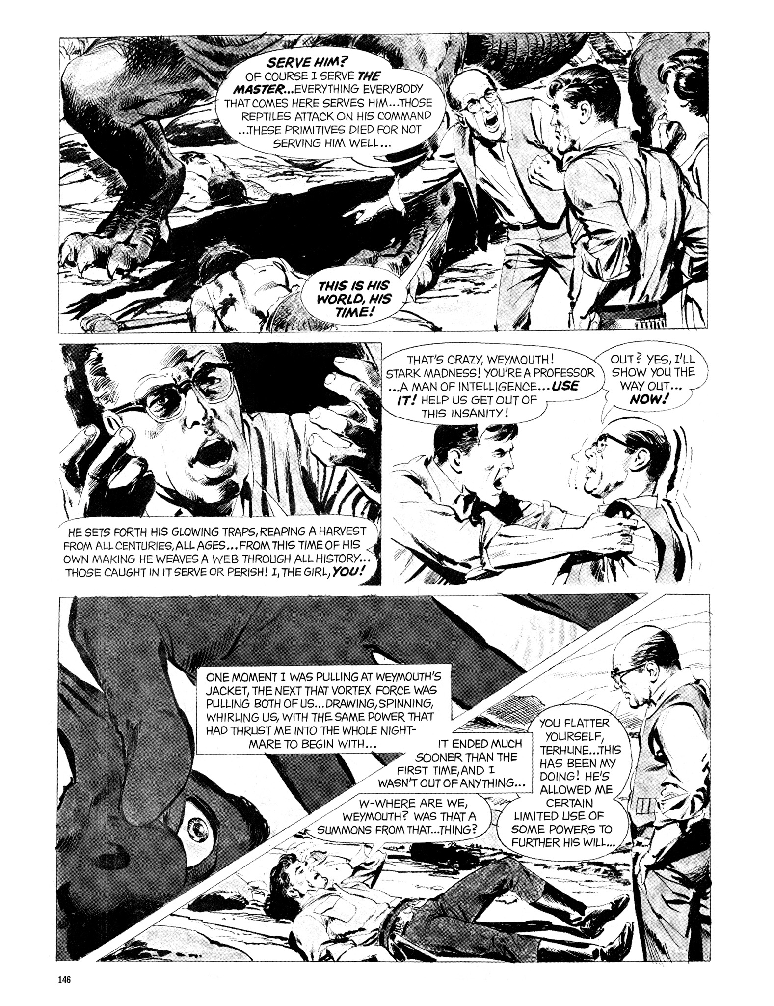 Read online Eerie Archives comic -  Issue # TPB 20 - 146