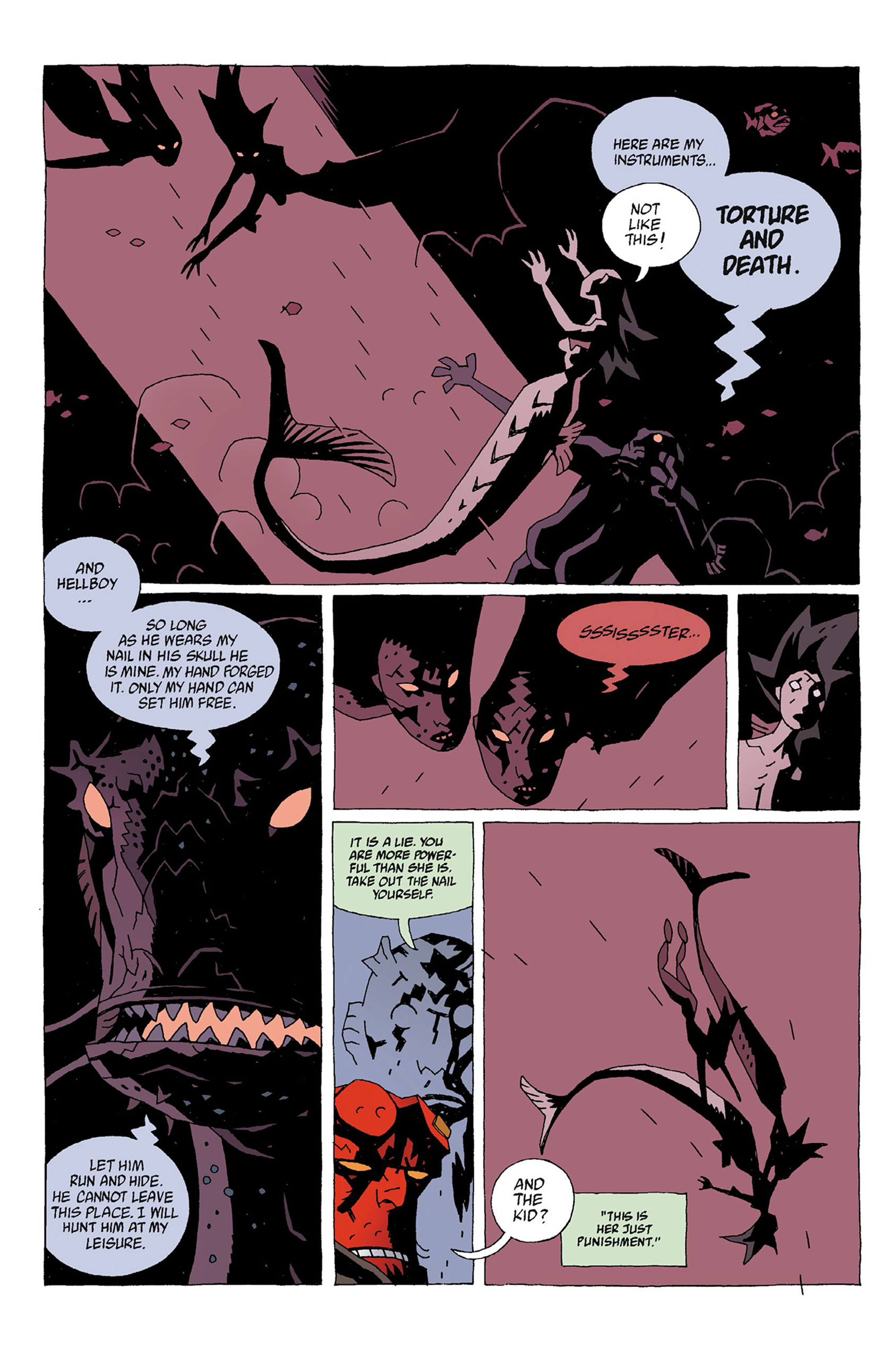 Read online Hellboy: Strange Places comic -  Issue # TPB - 54