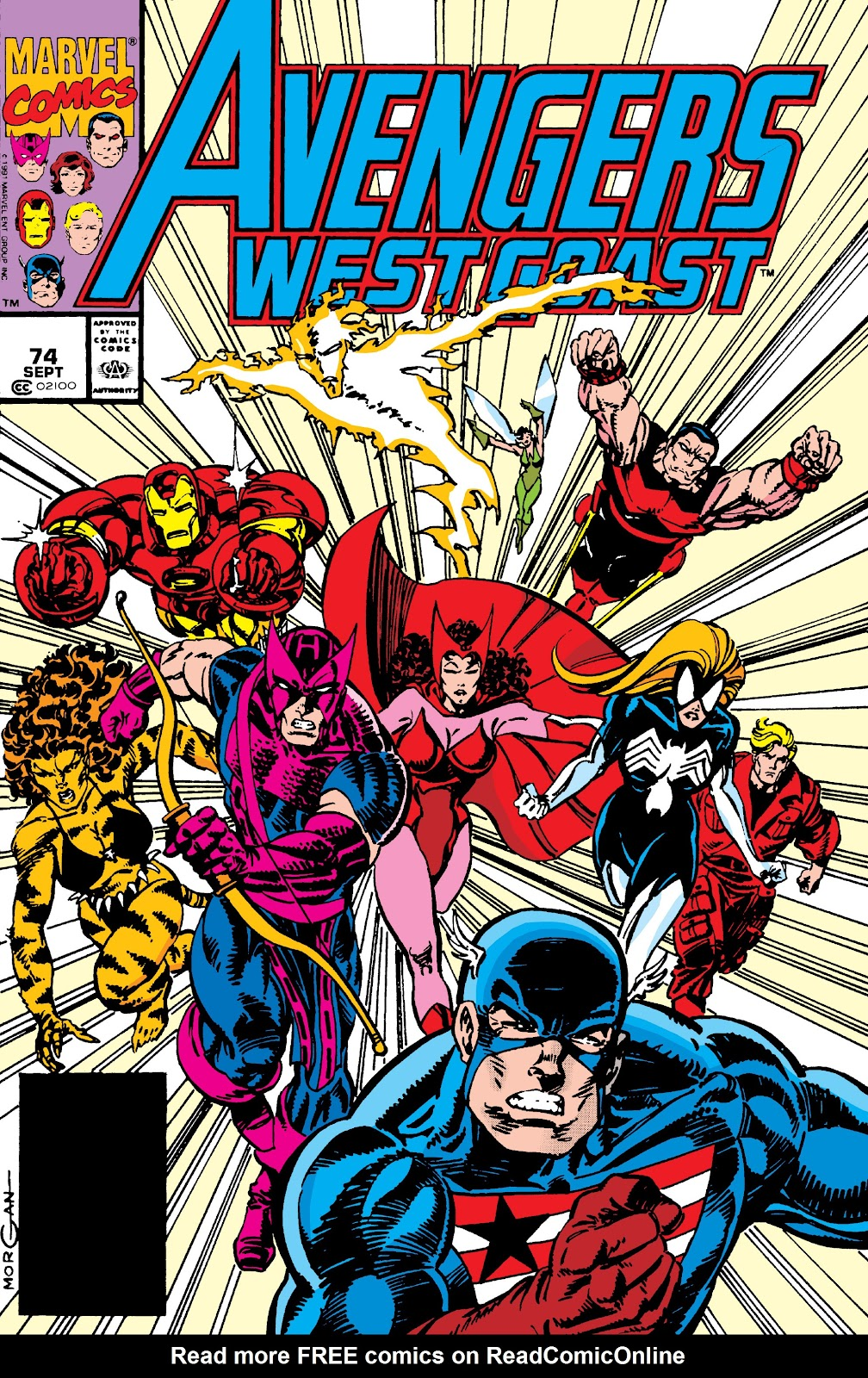 Avengers West Coast (1989) issue 74 - Page 1