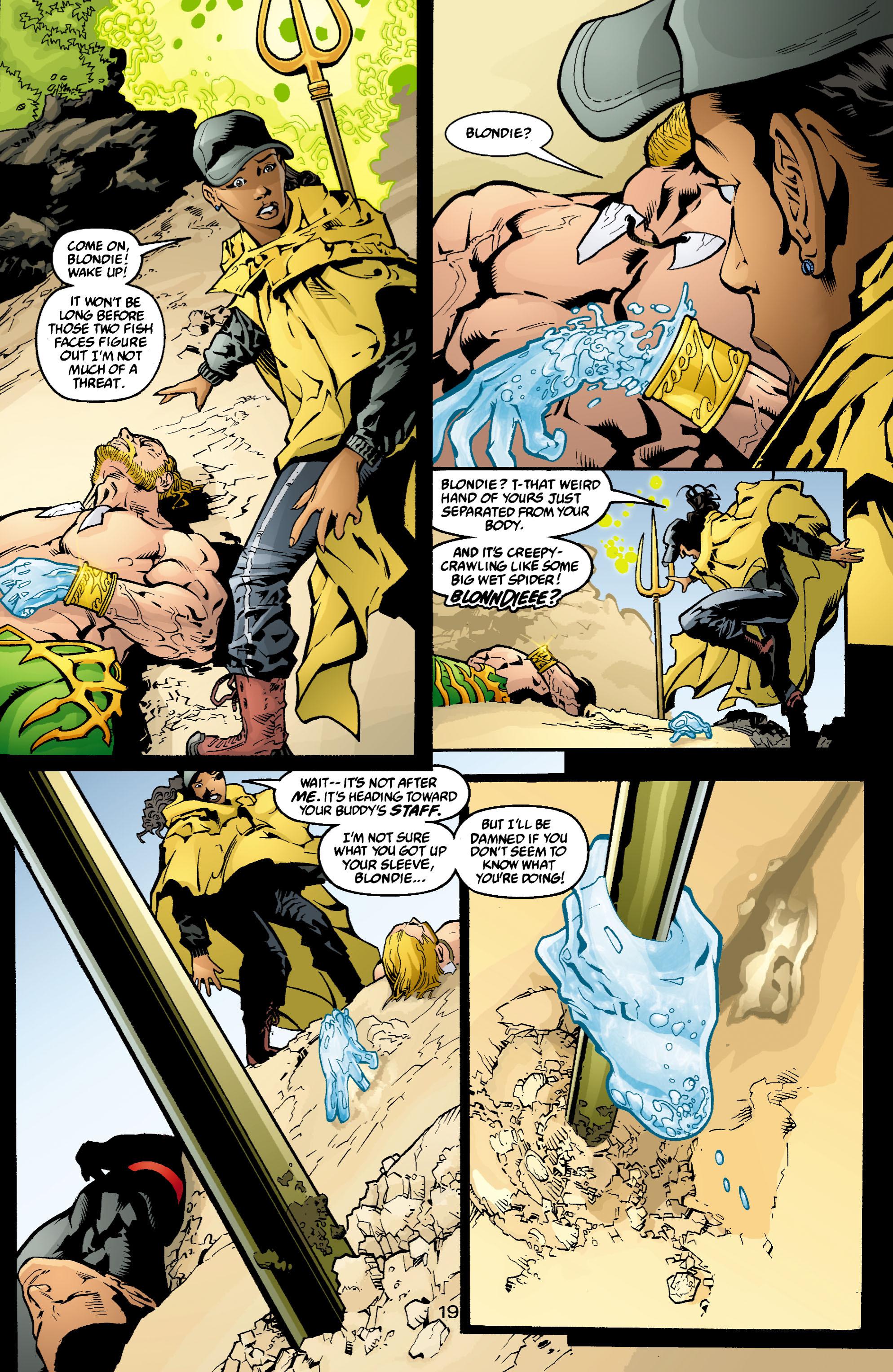 Read online Aquaman (2003) comic -  Issue #4 - 20