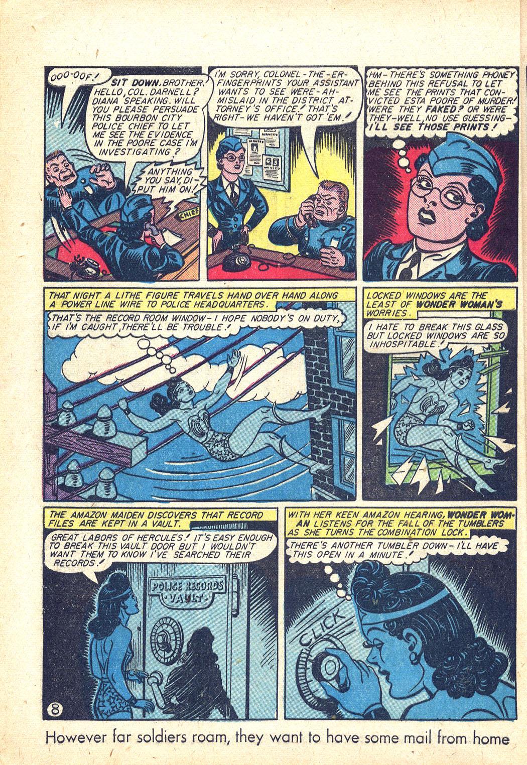 Read online Sensation (Mystery) Comics comic -  Issue #34 - 10