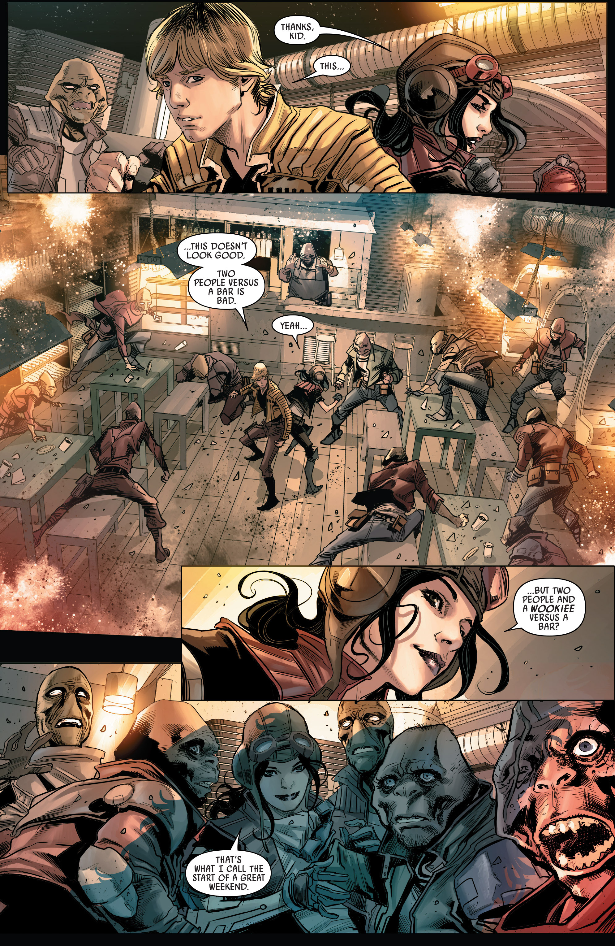 Read online Star Wars: The Screaming Citadel comic -  Issue # Full - 7