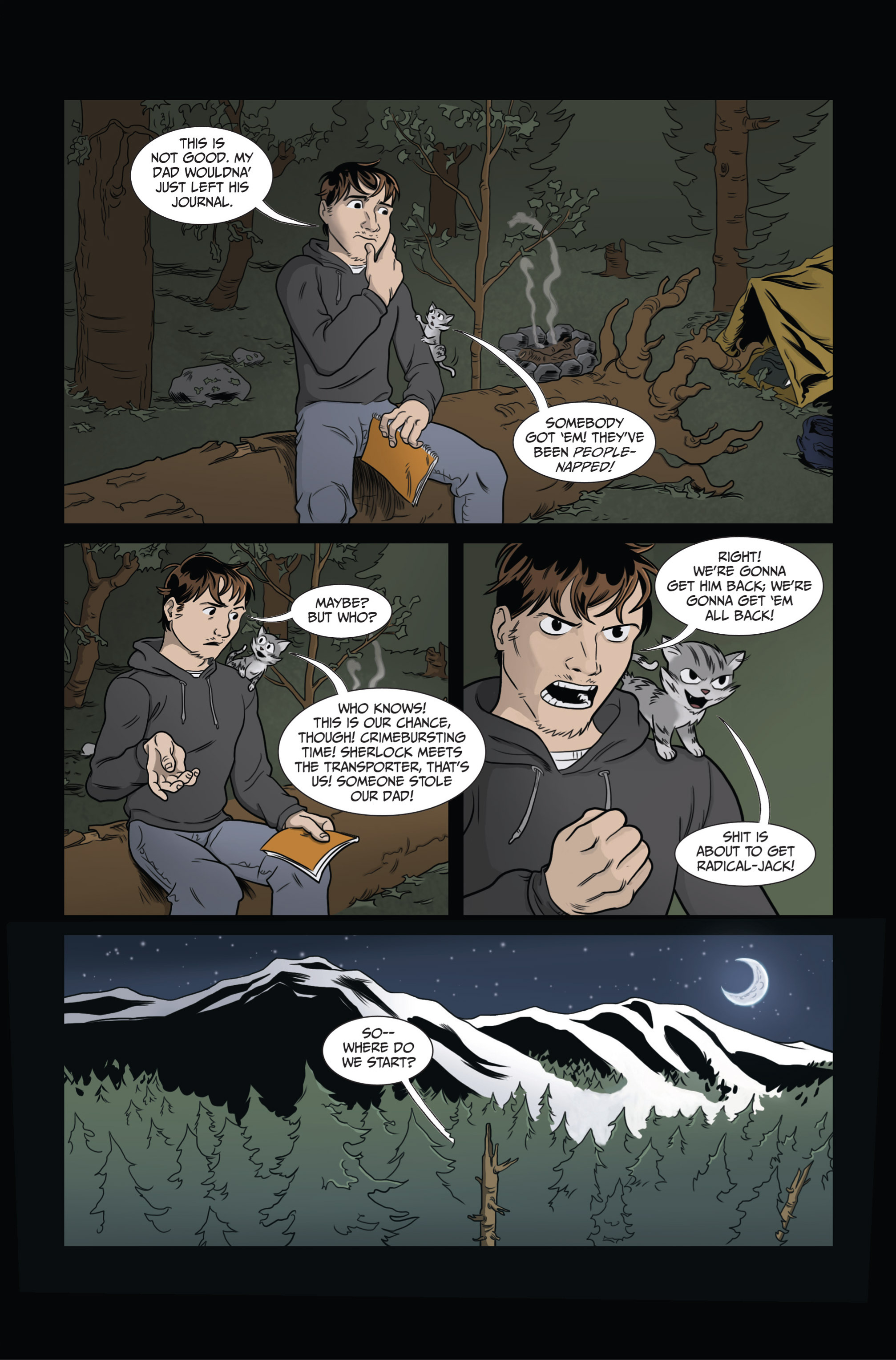 Read online Ehmm Theory: Everything & Small Doses comic -  Issue #3 - 7