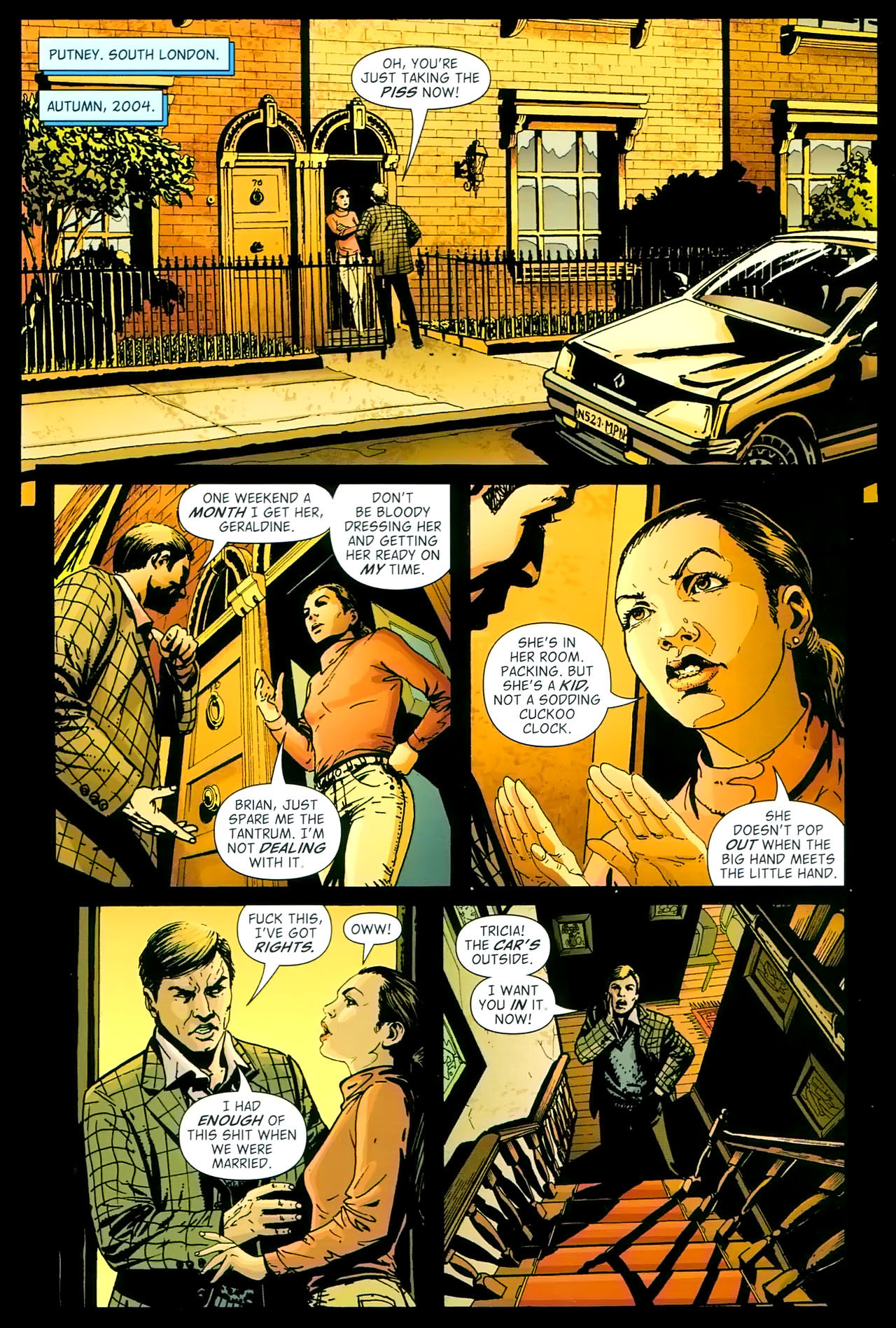 Read online John Constantine Hellblazer: All His Engines comic -  Issue # Full - 15