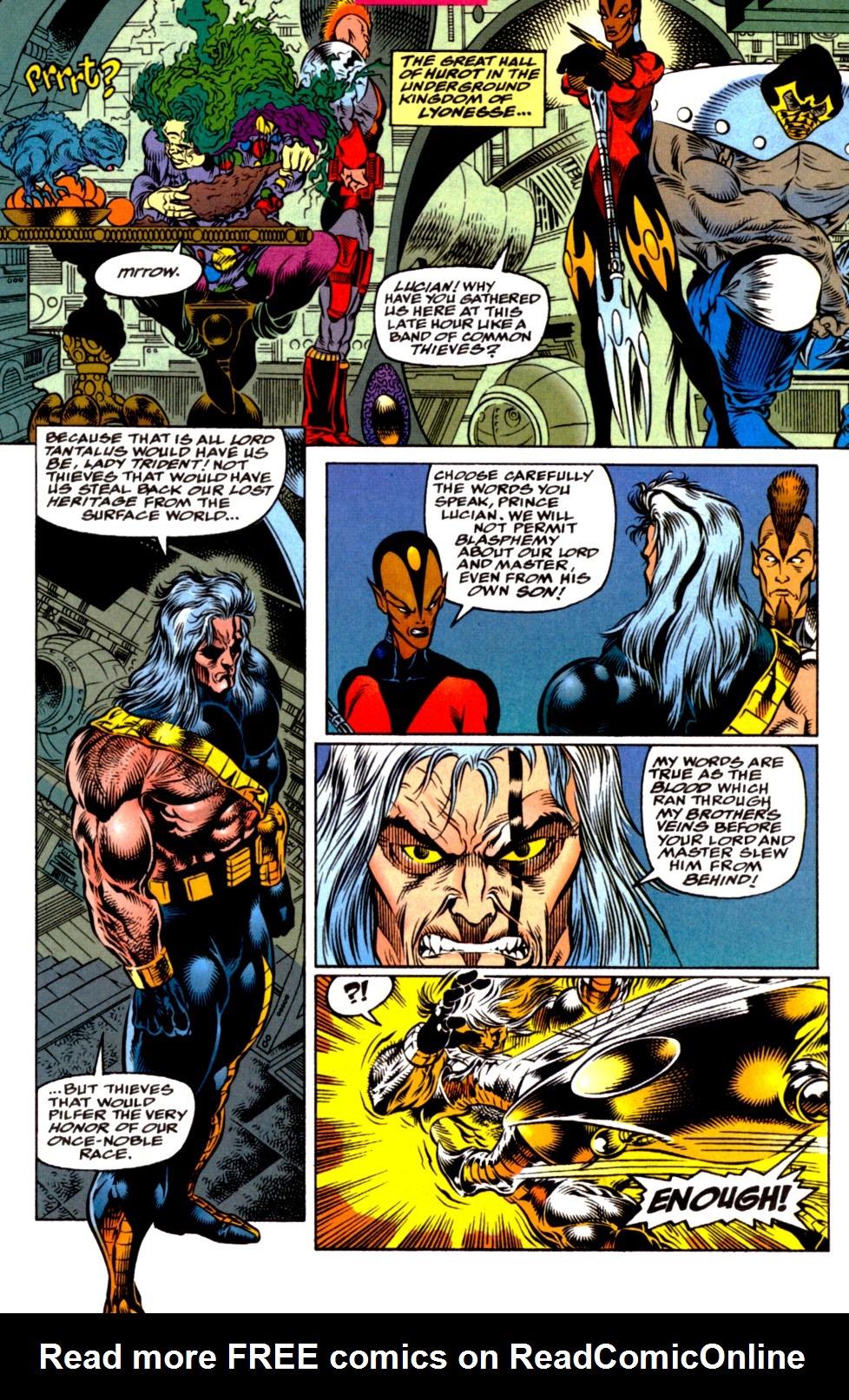 Read online Blackwulf comic -  Issue #2 - 4