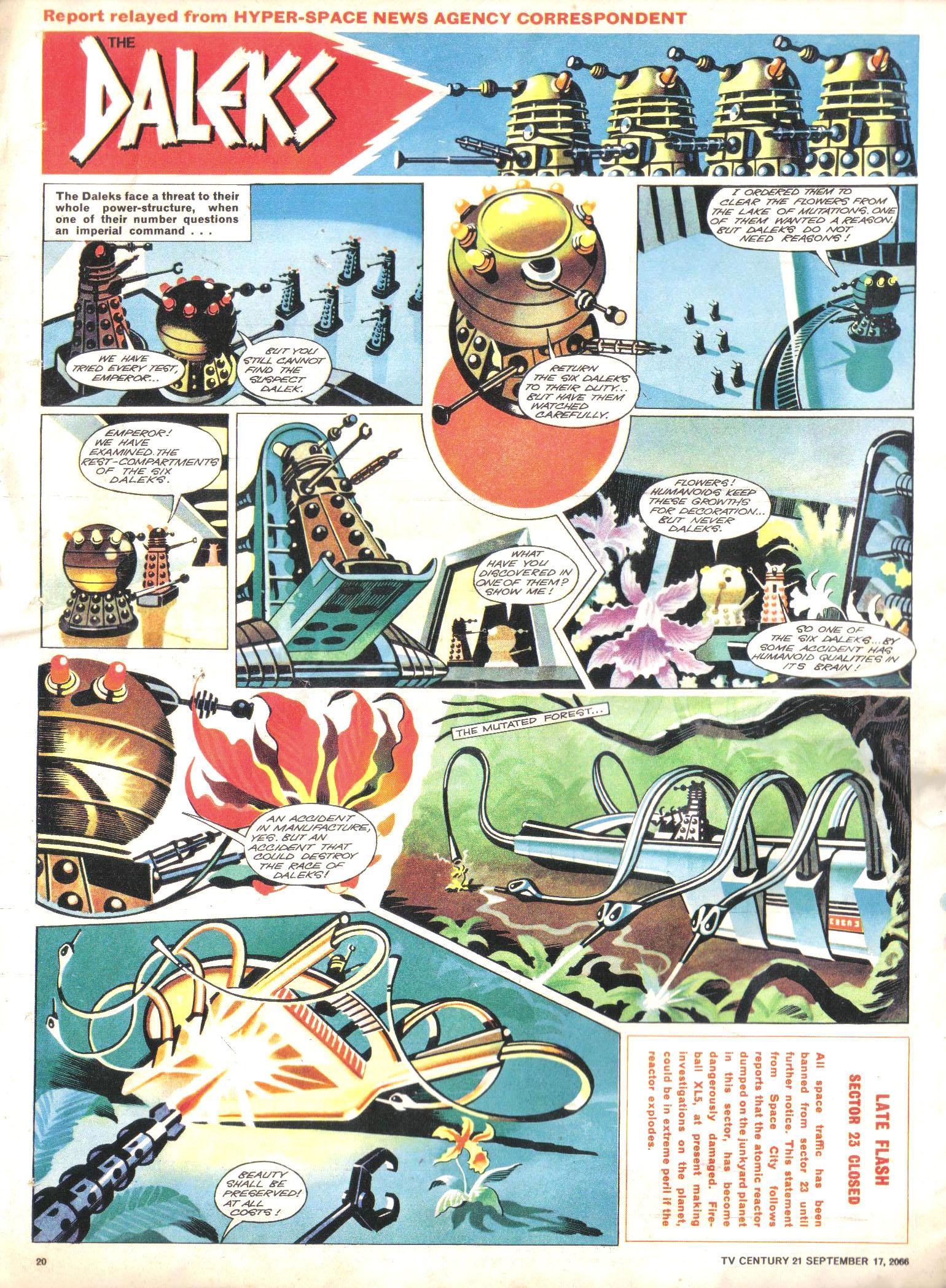 Read online TV Century 21 (TV 21) comic -  Issue #87 - 19
